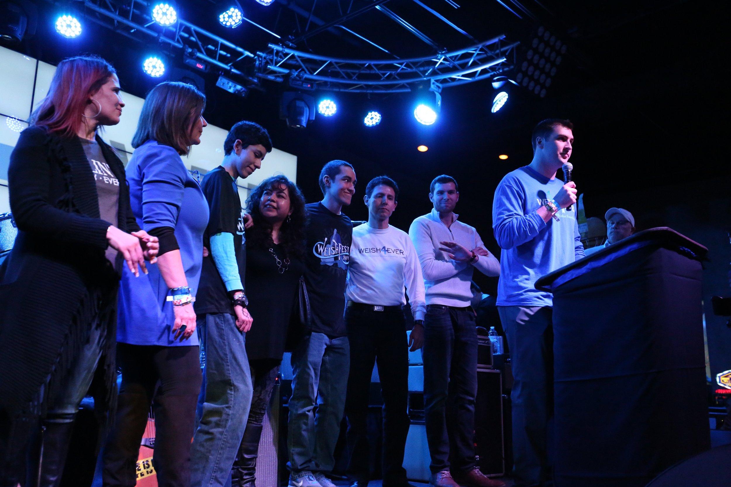 WeishFest 2016 Beneficiaries