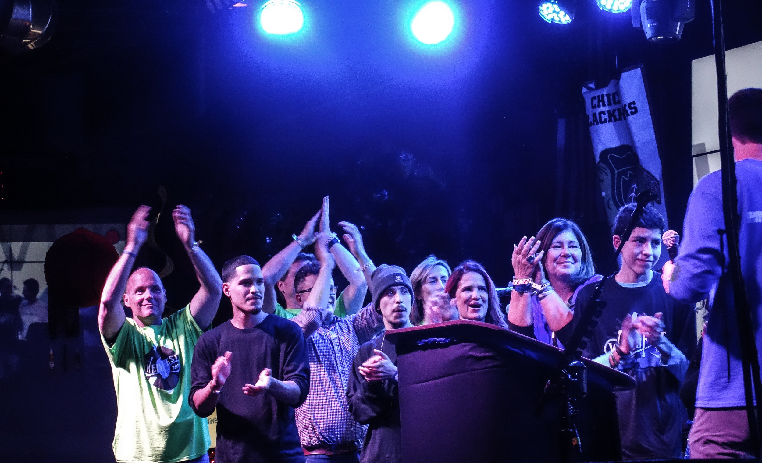 WeishFest 2016 Crowd Applause