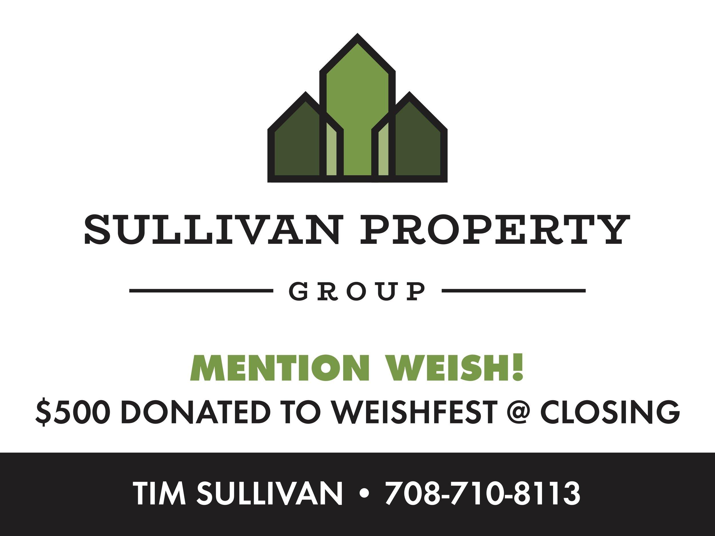 WeishFest Bronze Sponsor | Sullivan Property Group