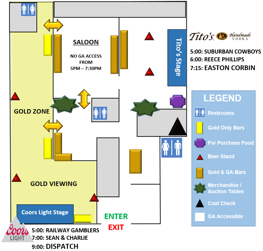 WeishFest 2018 Venue Map