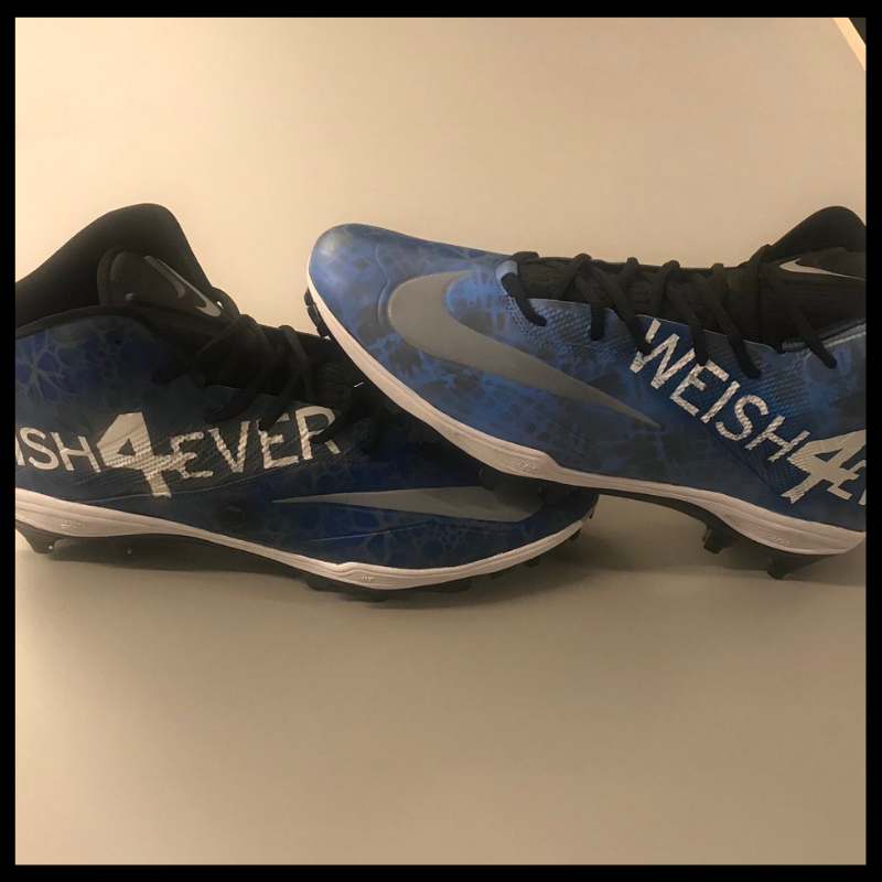 The Andrew Weishar Foundation | New Kicks: NFL Players Unveil Cleats