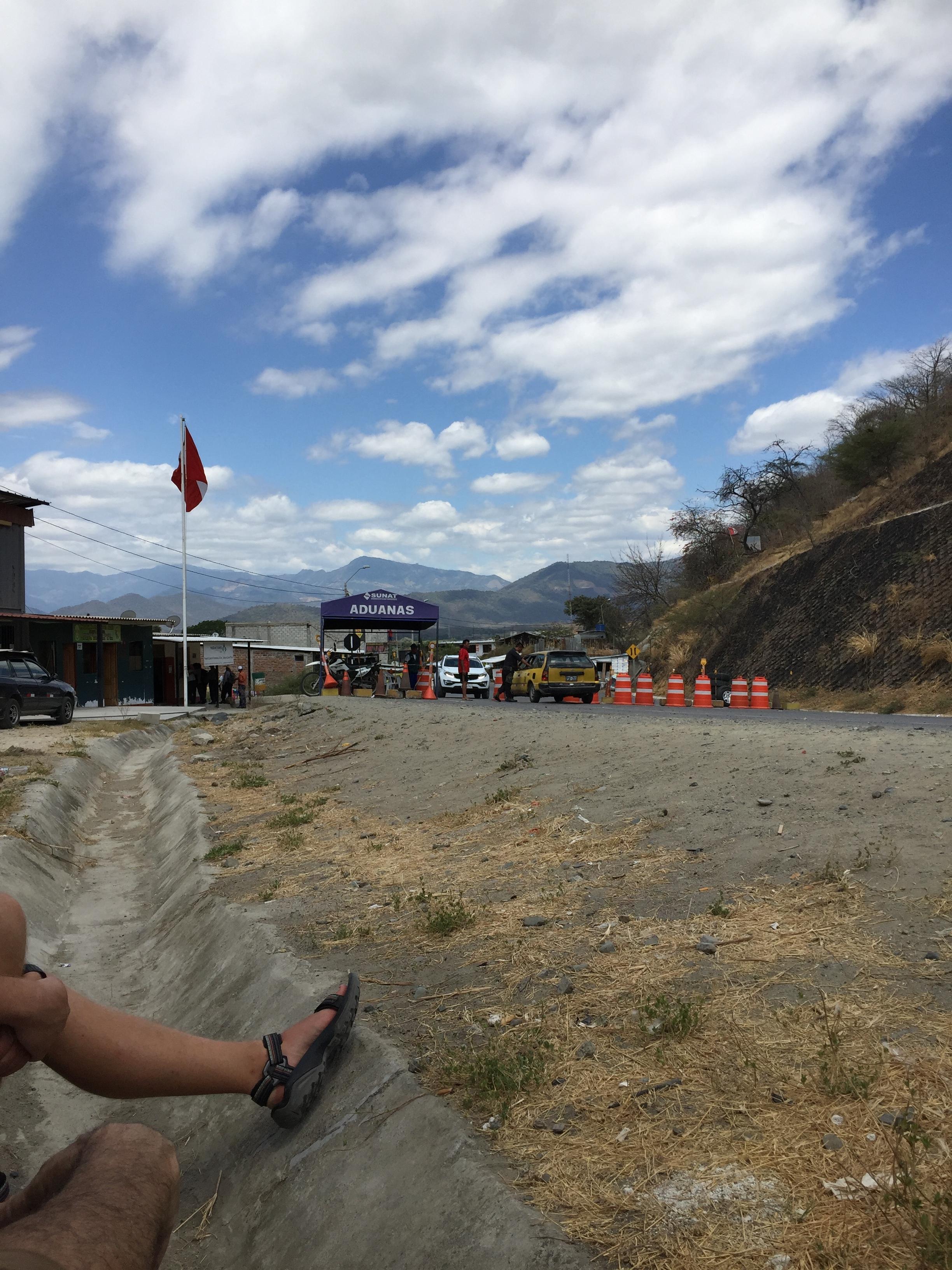 The Peruvian border