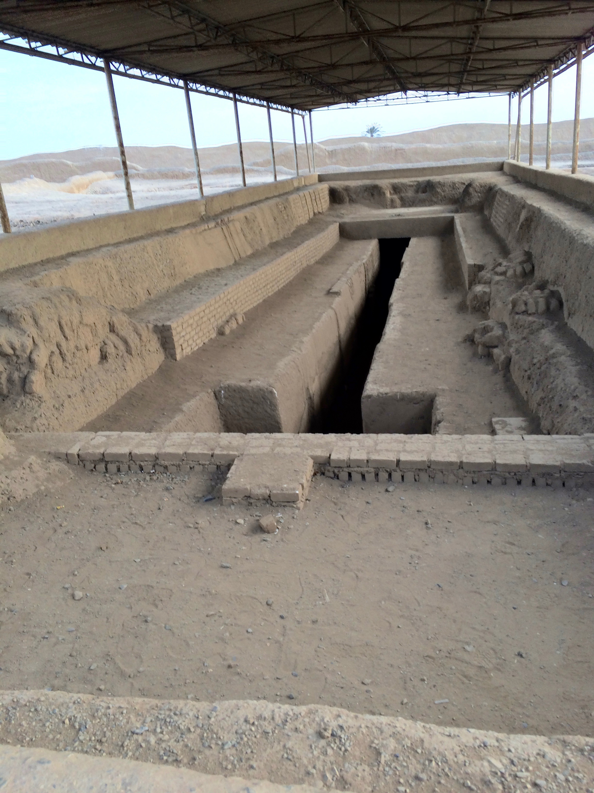 The burial tomb of the high priest