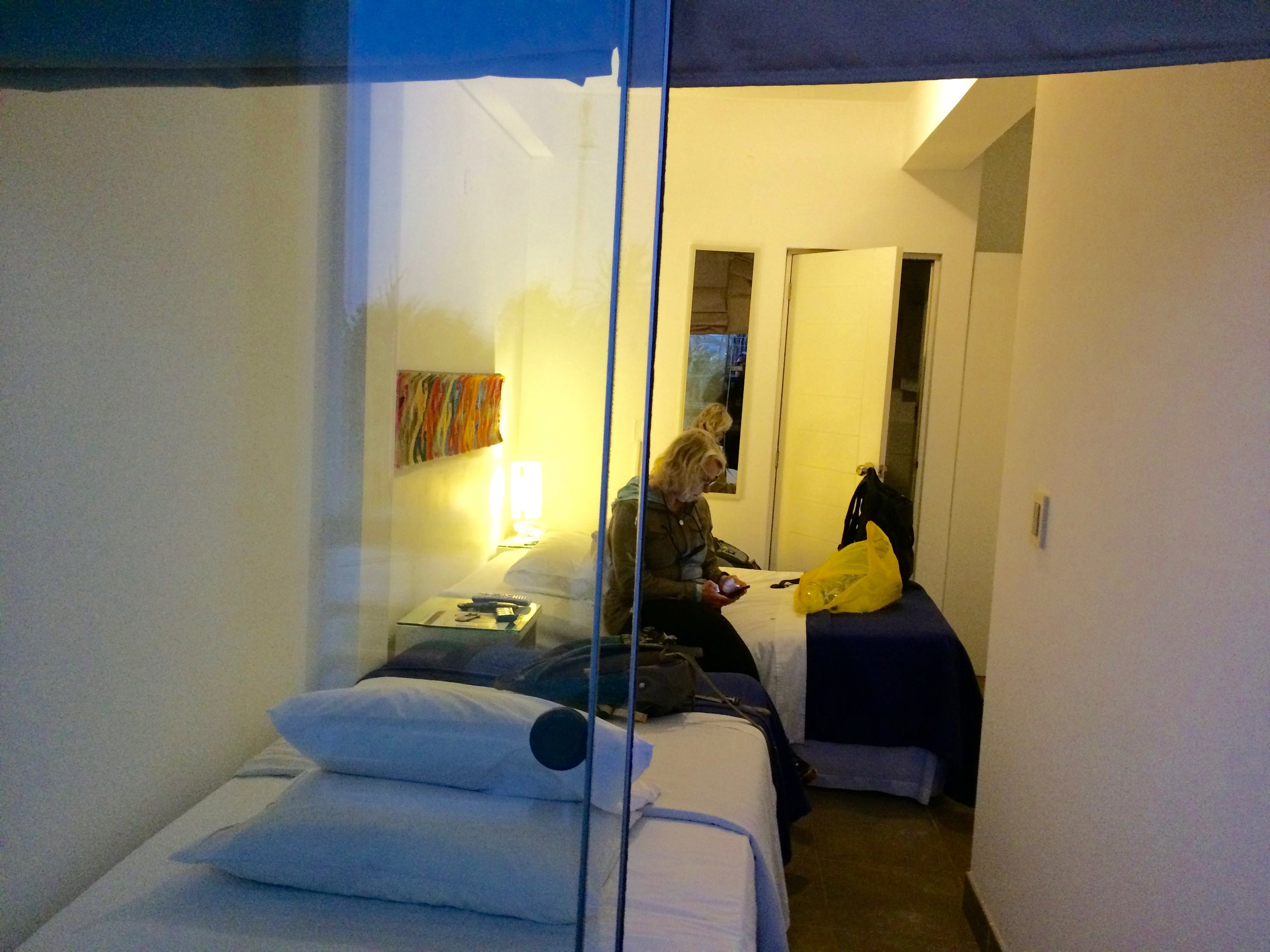 Our quirky hotel in Paracas