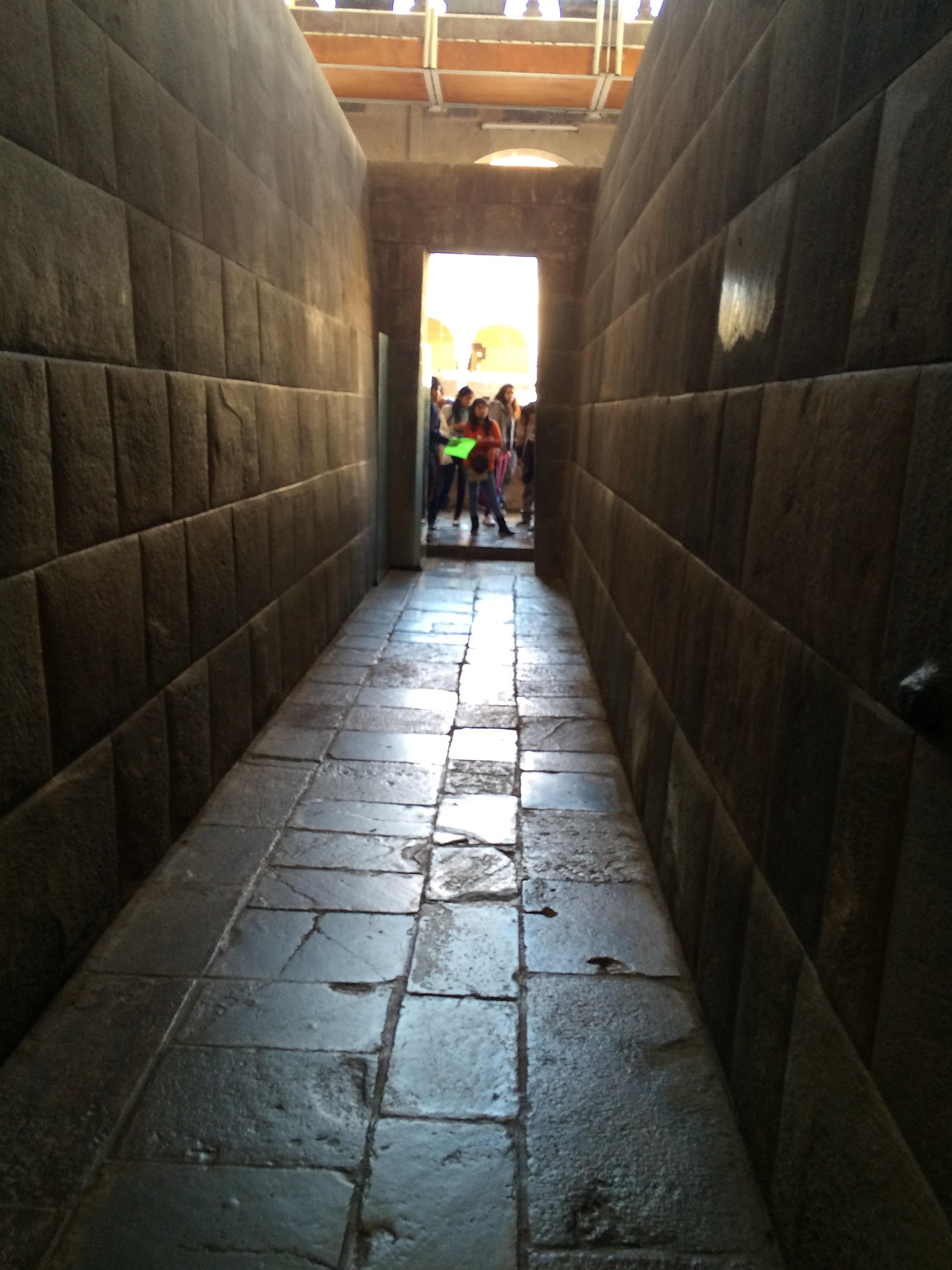 The Inca walls