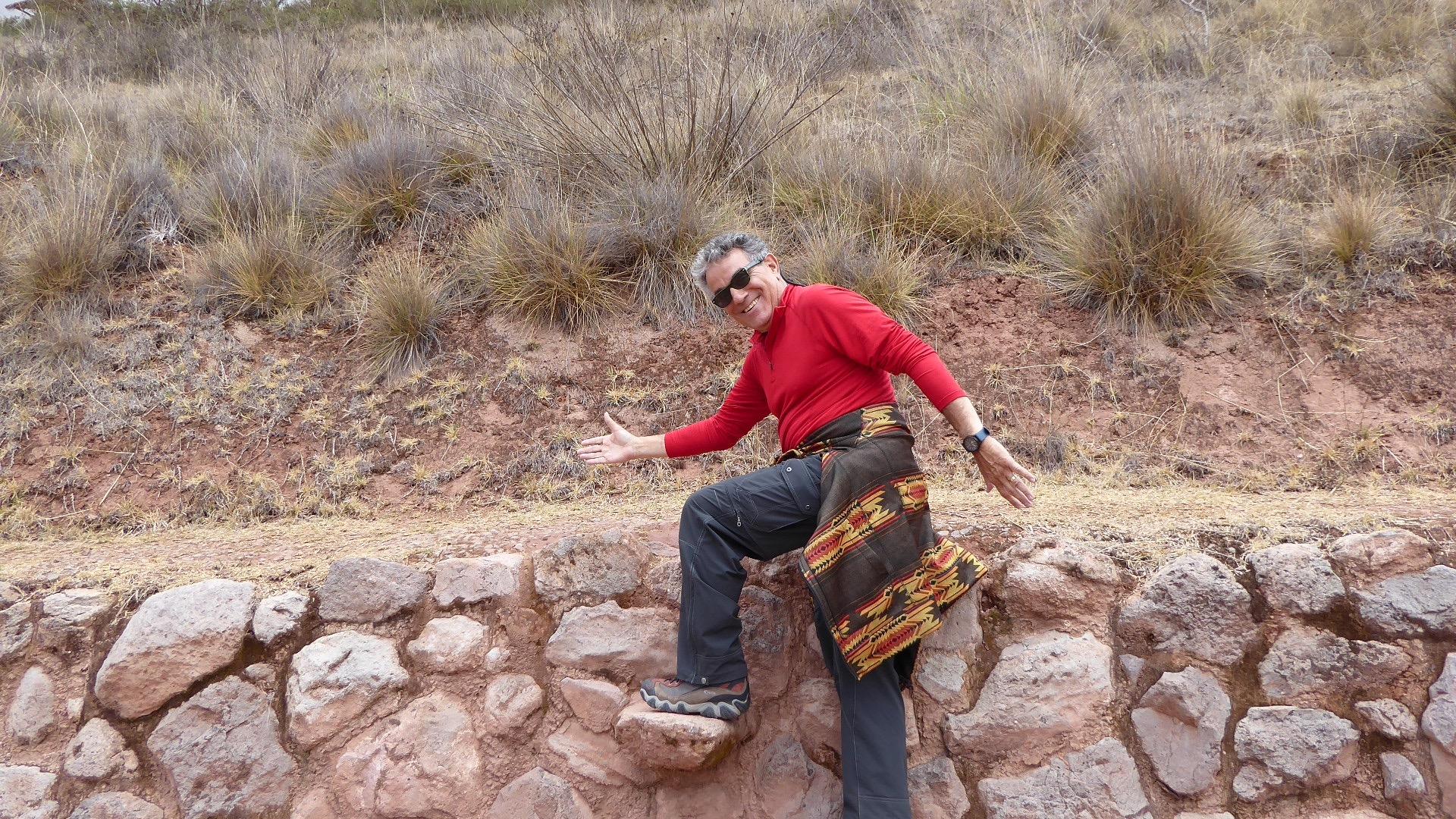 Frank hiking Moray
