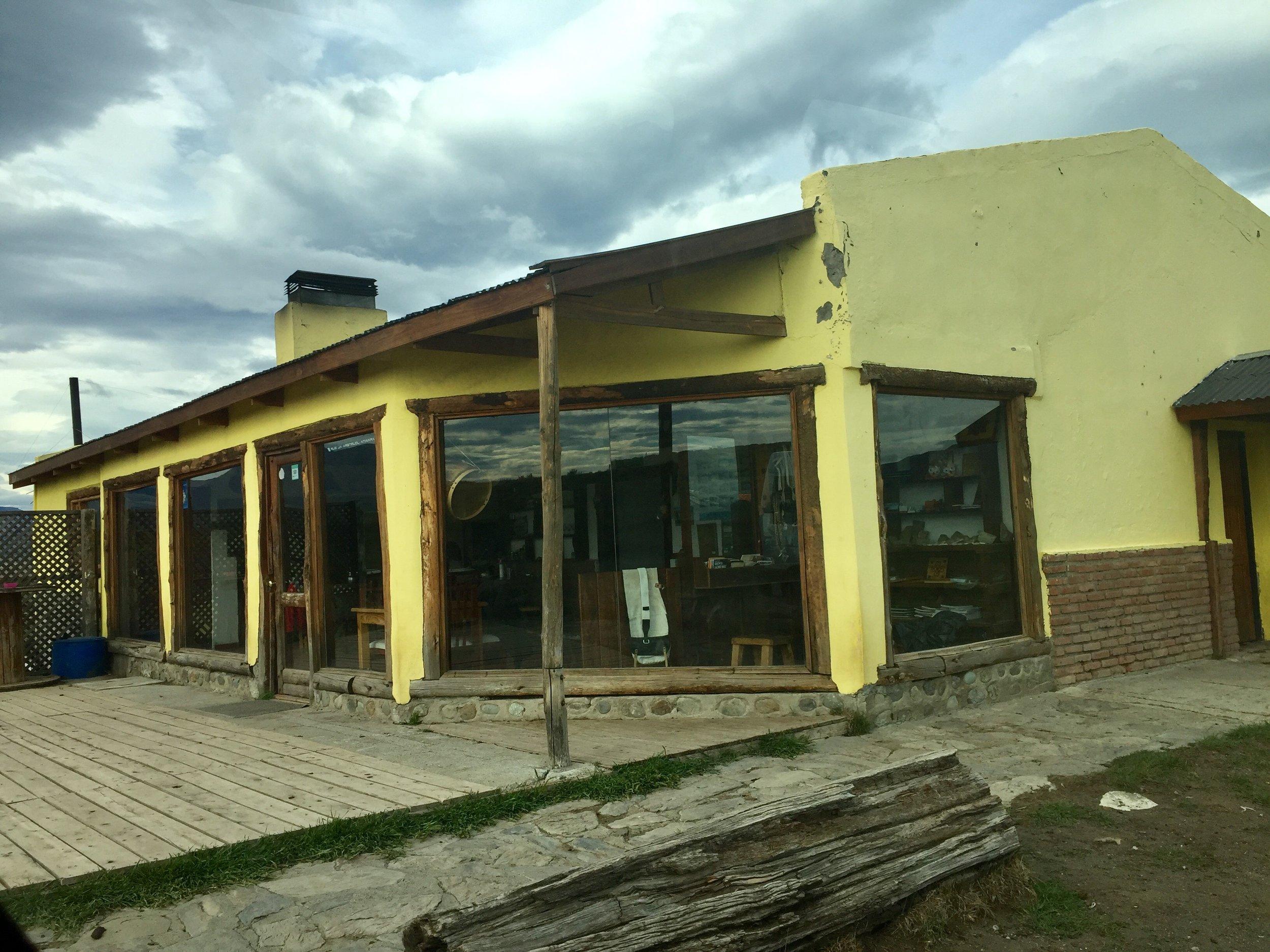 The Estancia out building