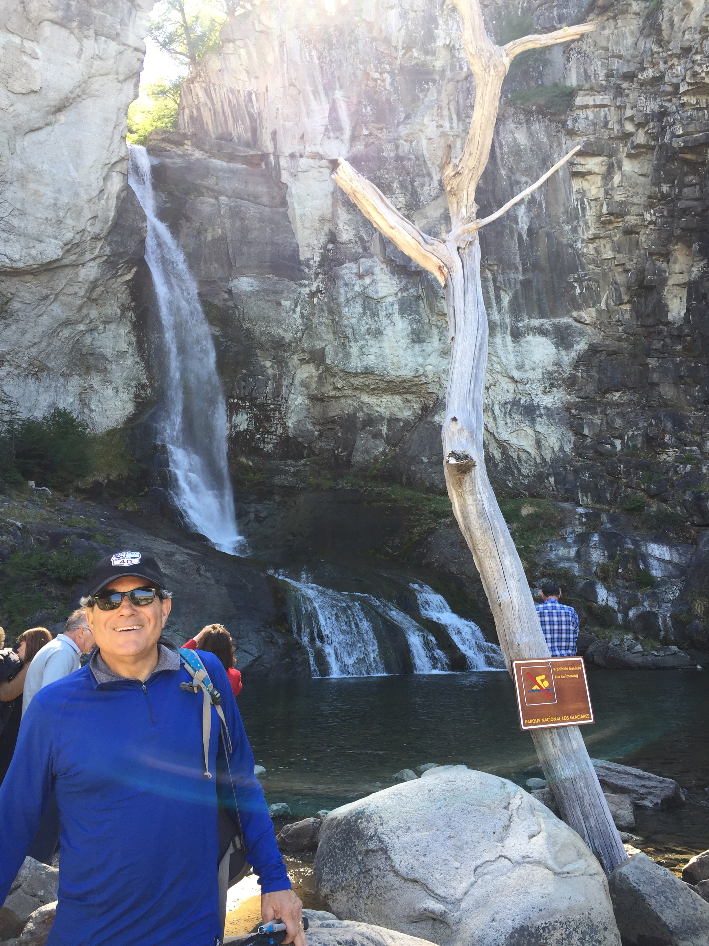 Warm up waterfall trek