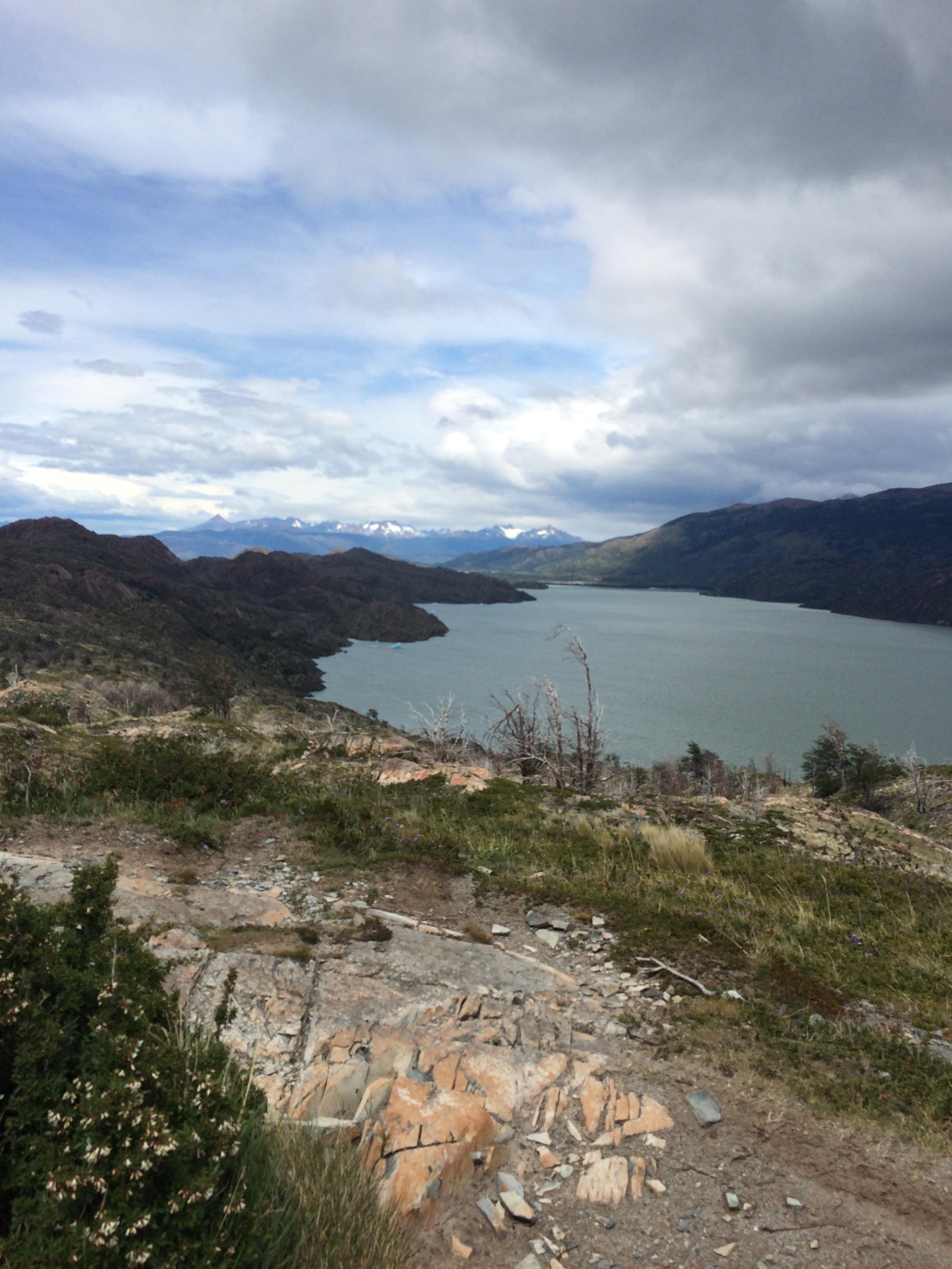 View from top of third trek