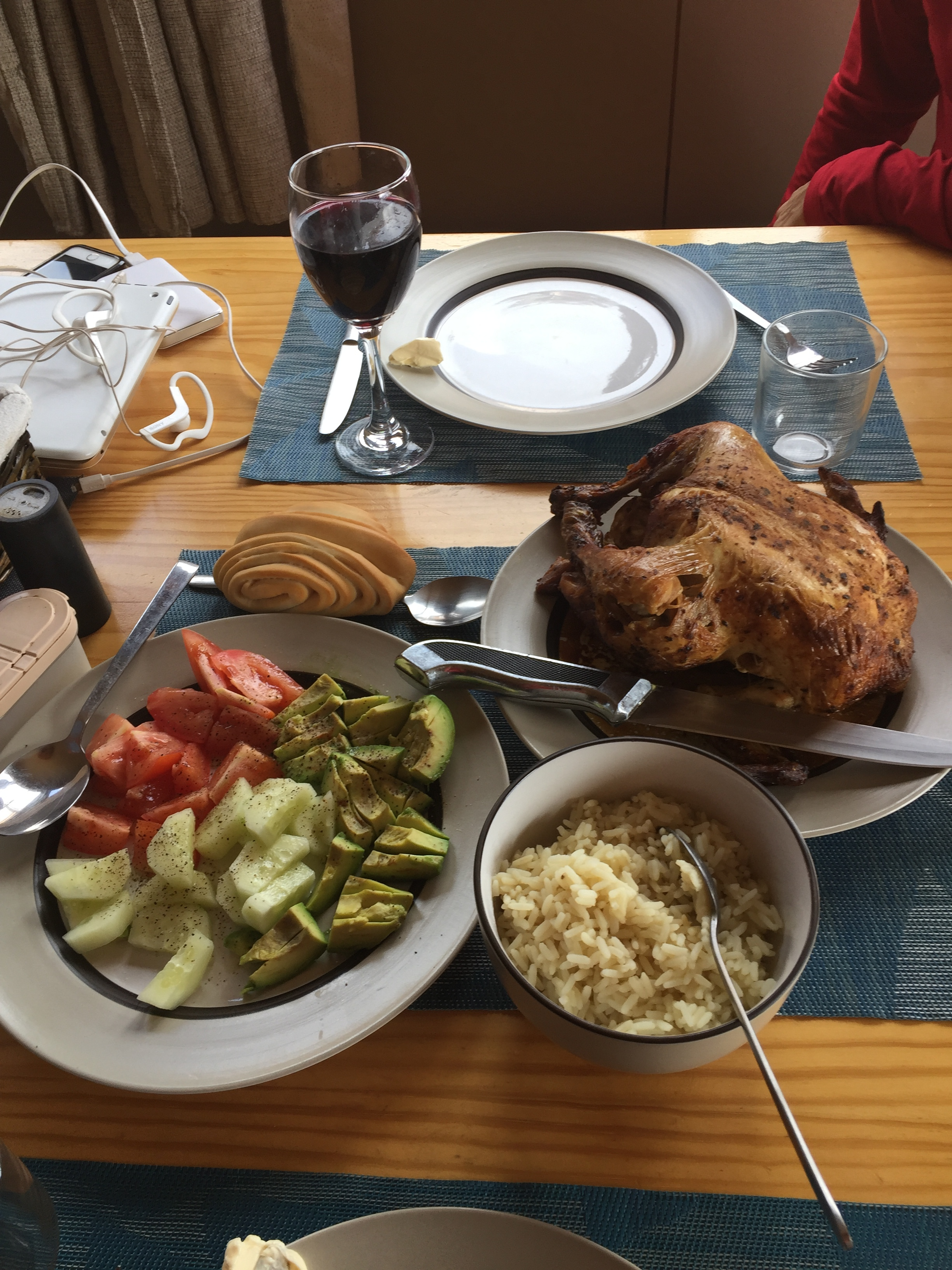Our Patagonia thanksgiving