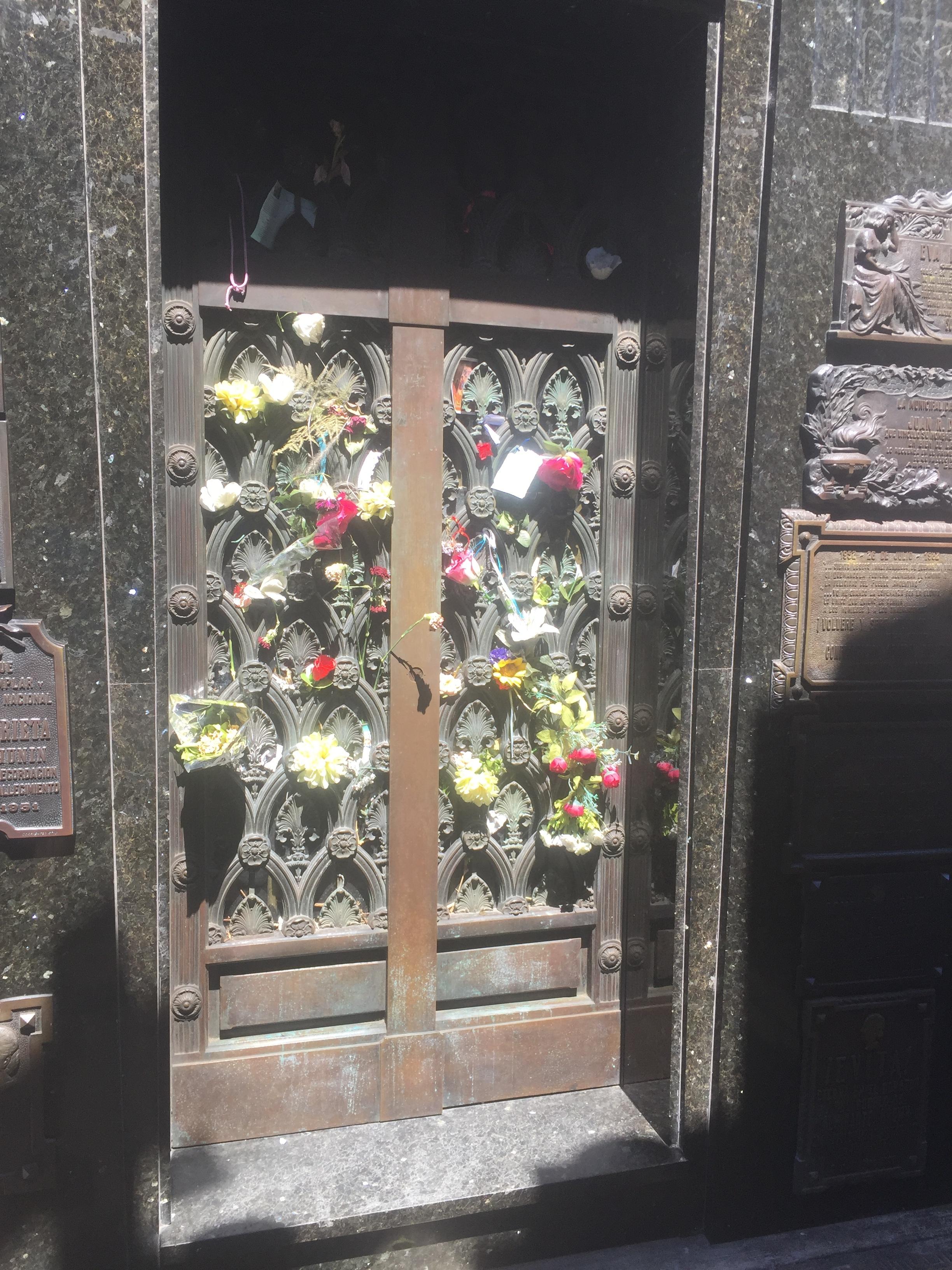 Eva Peron Burial site