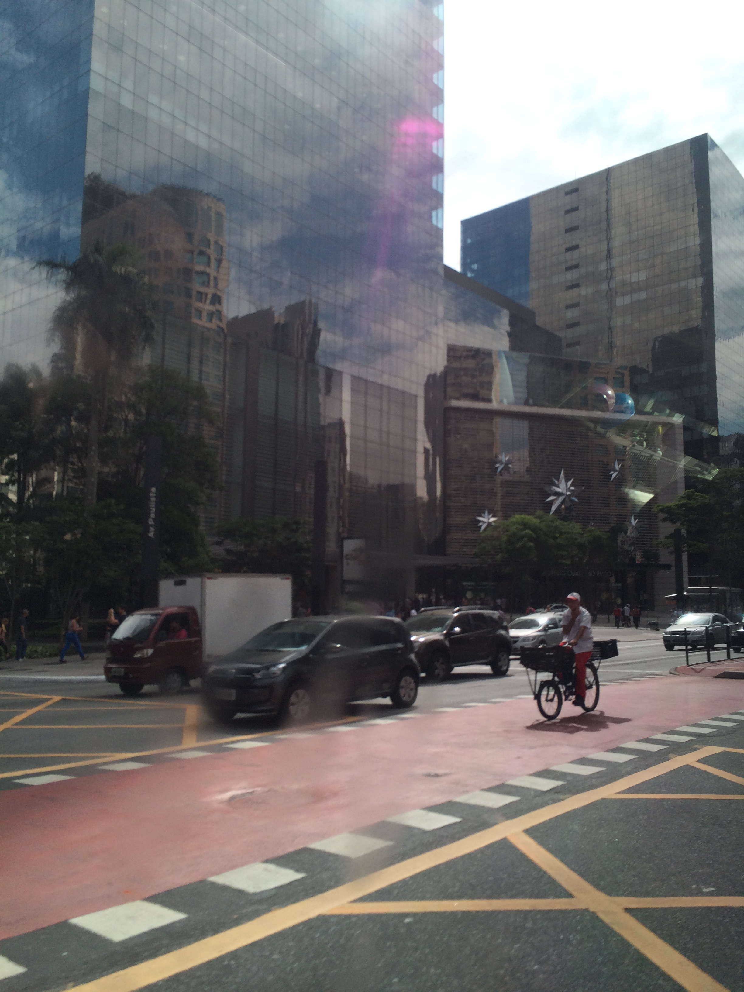 Street view of city