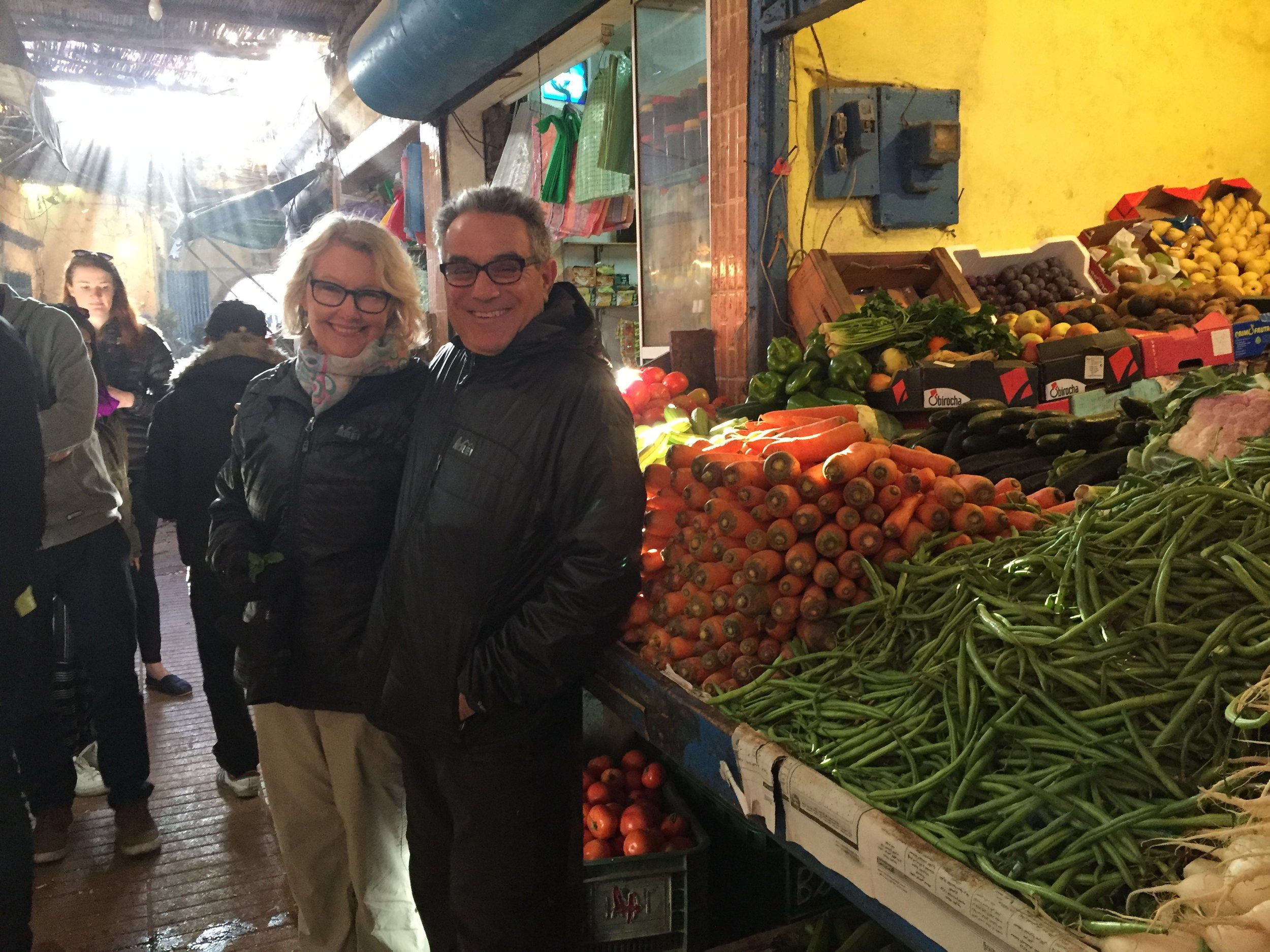 The market of Marrakech