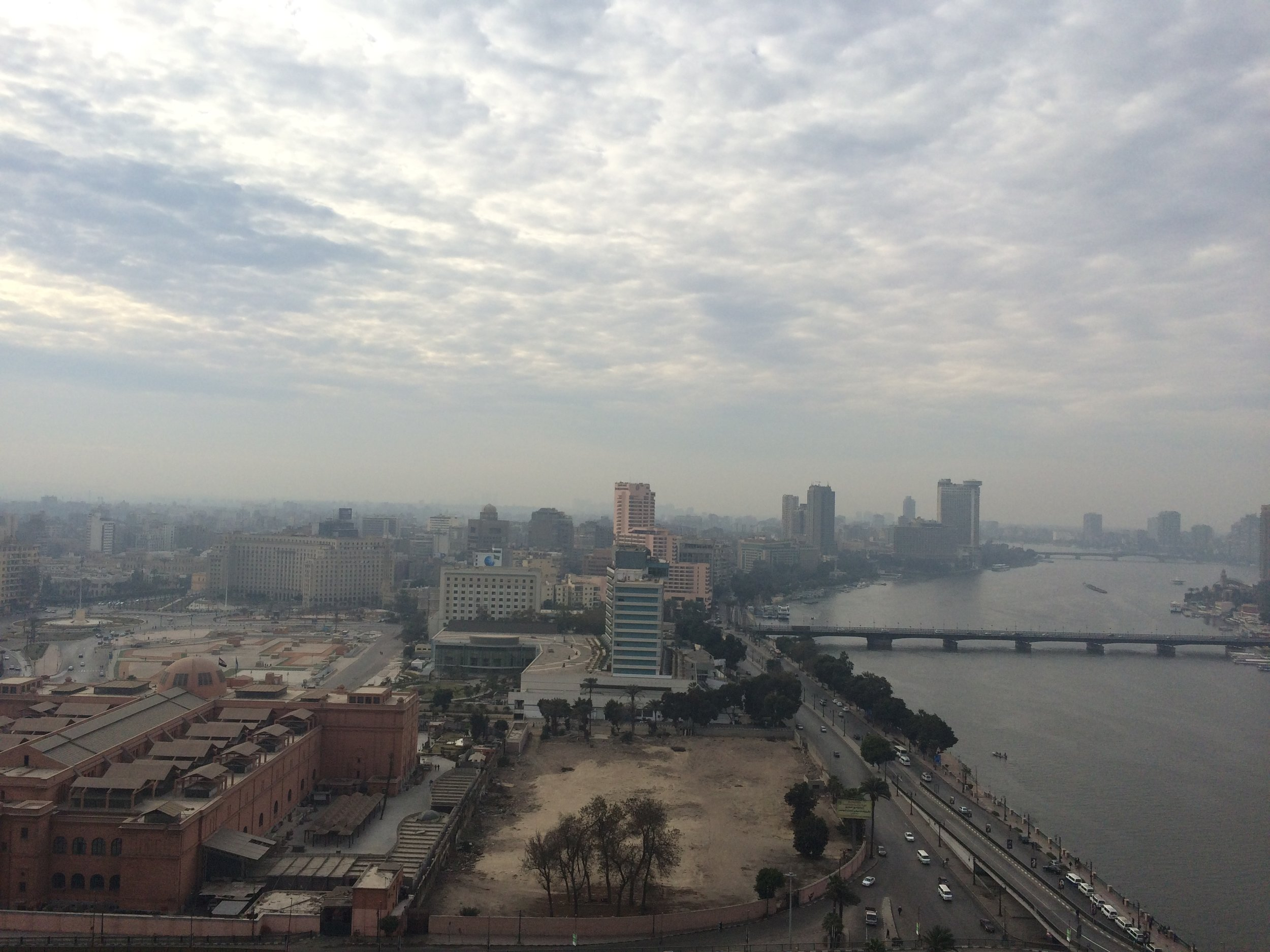 Day view of Nile