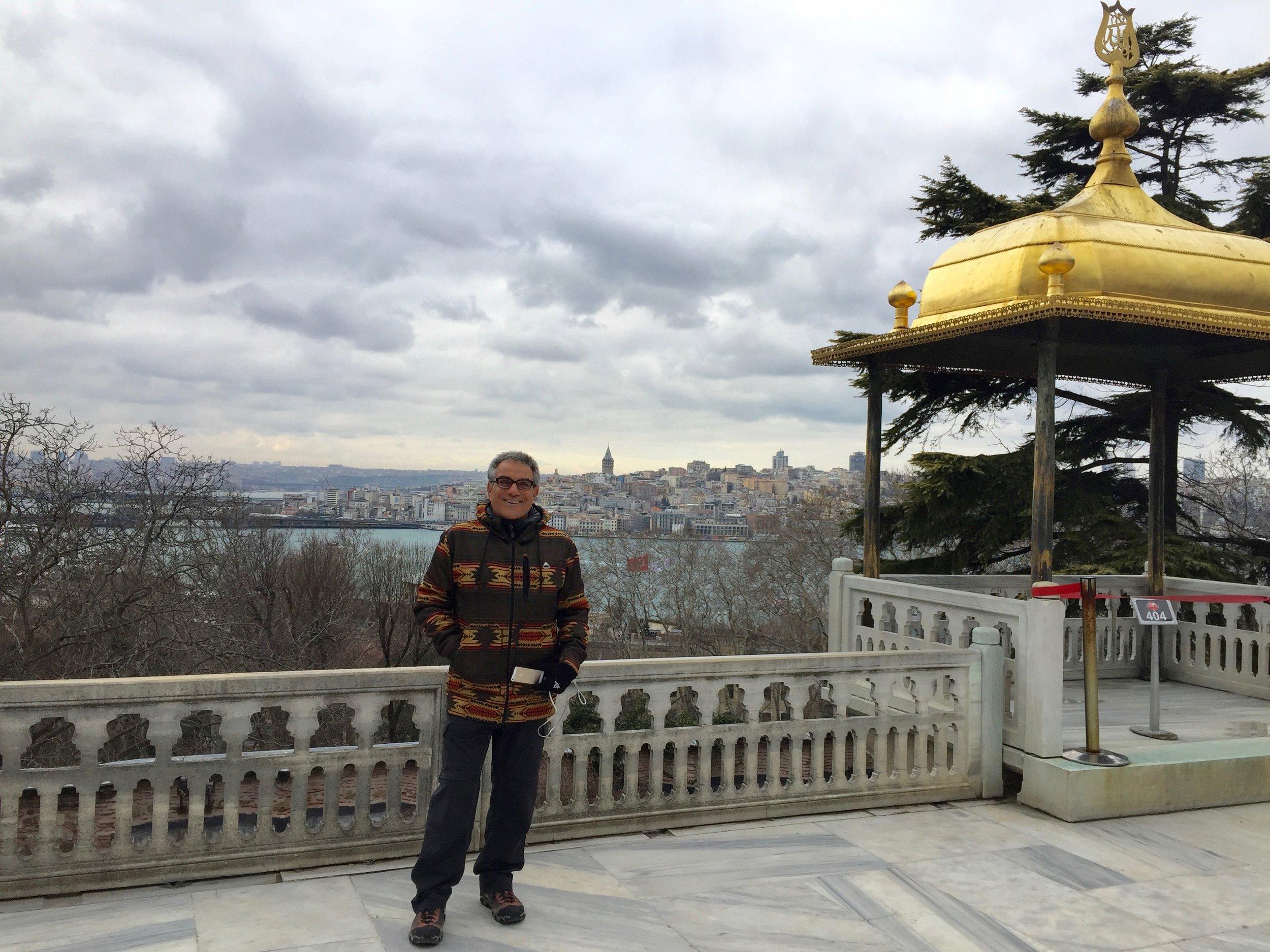Overlooking the Golden Horn