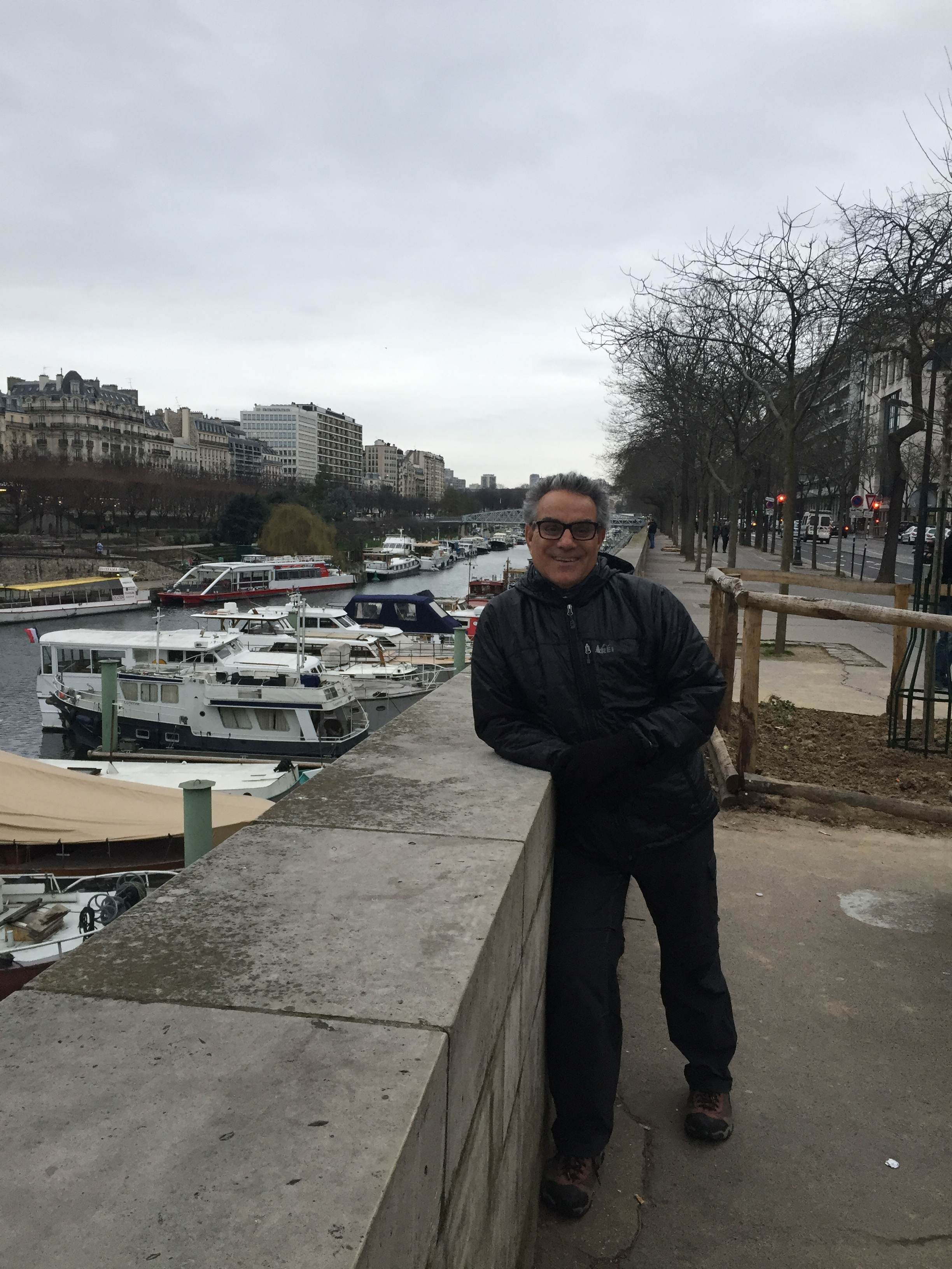 Frank at the Seine