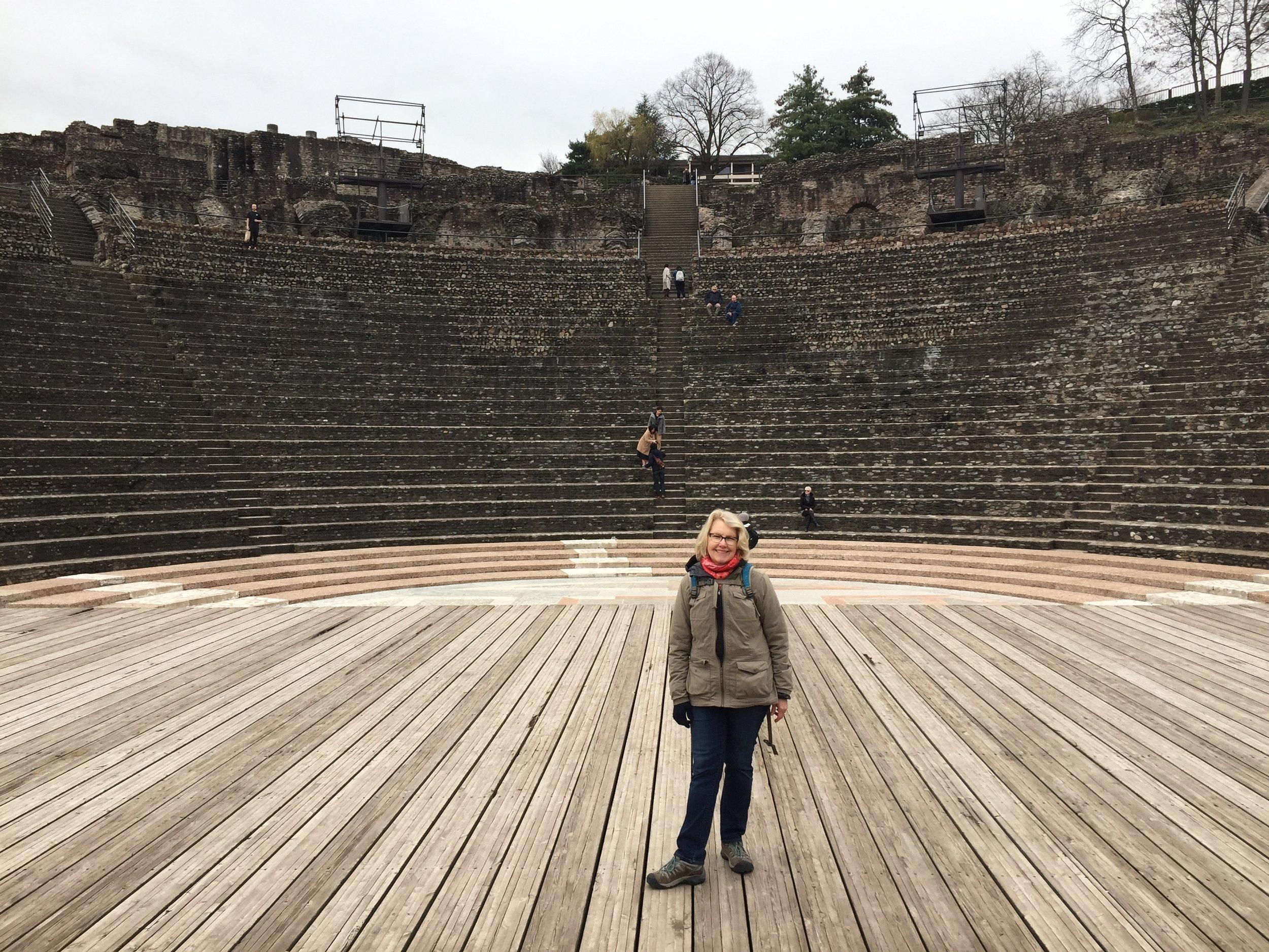 Roman ruins of Lyon
