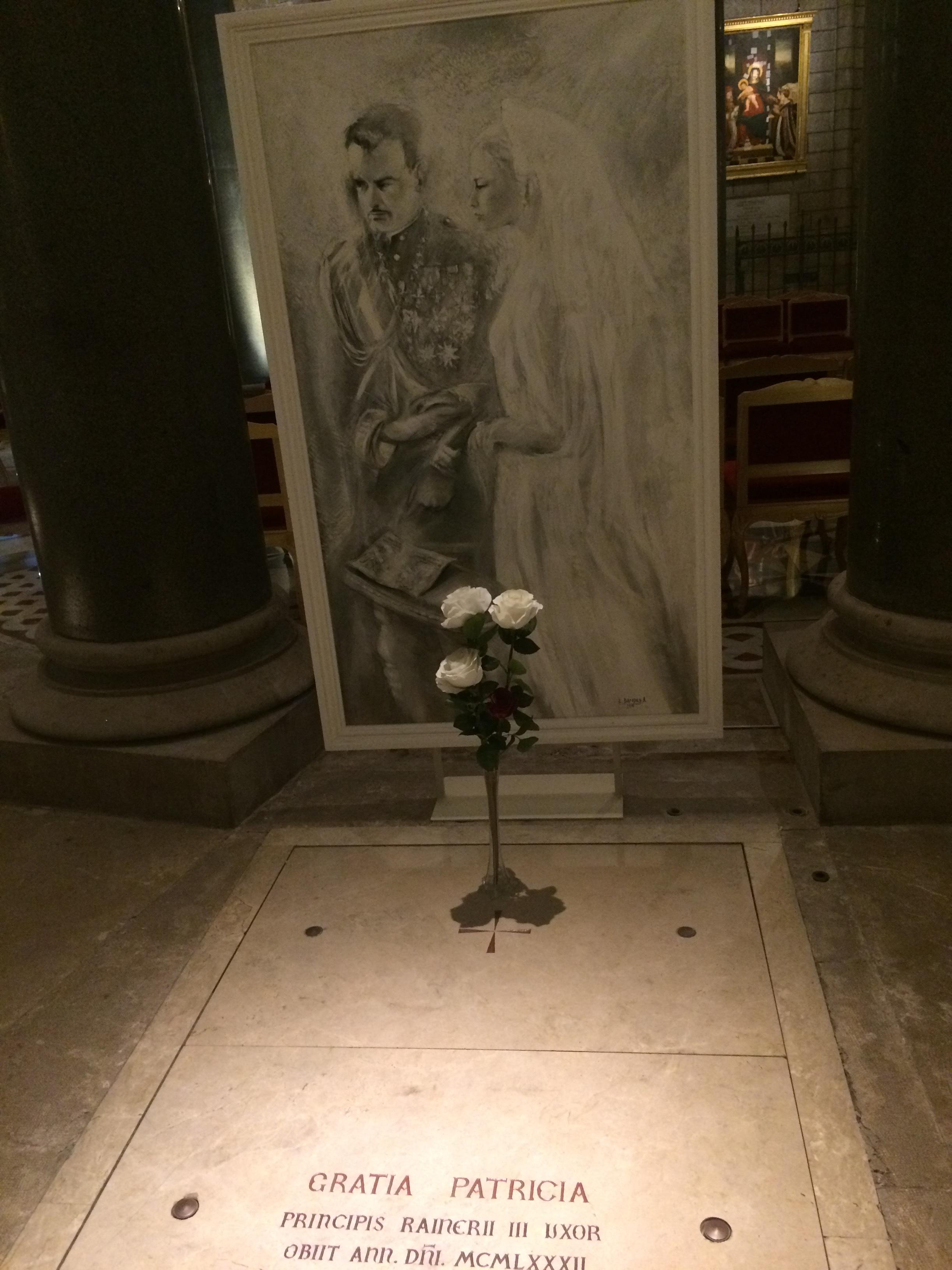 Princess Grace's tomb