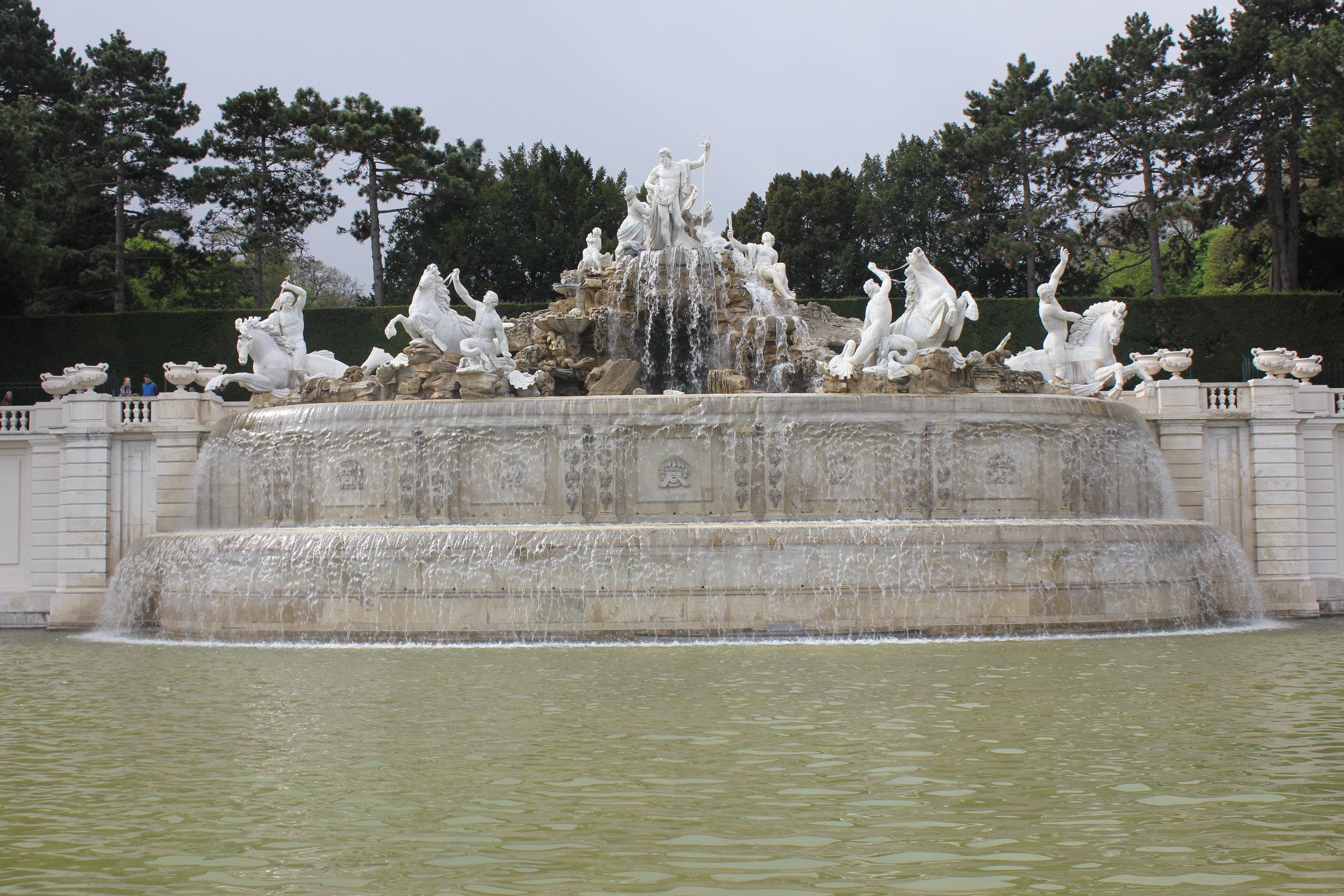 Schloss Beleverde Fountain