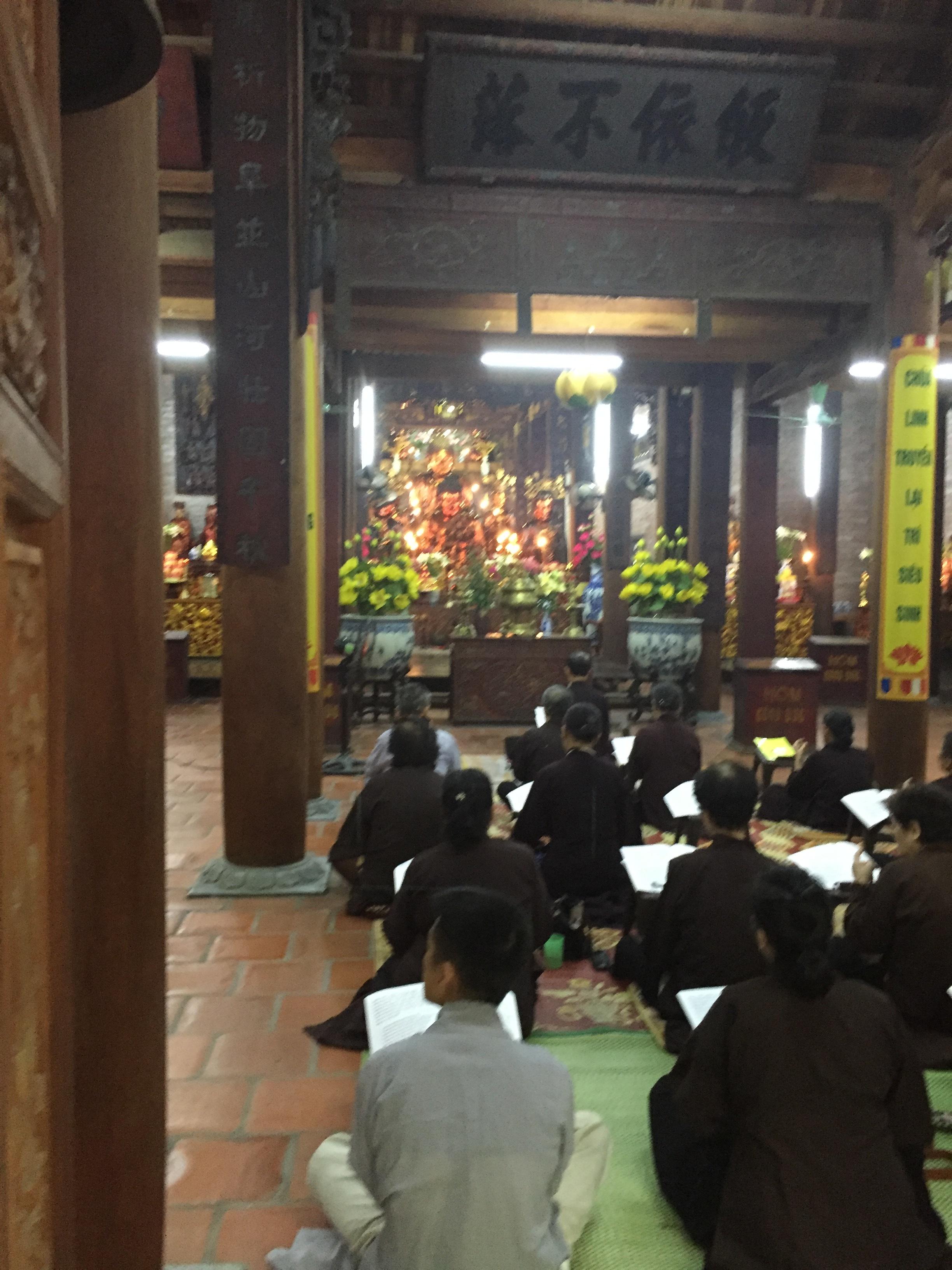 Temple service