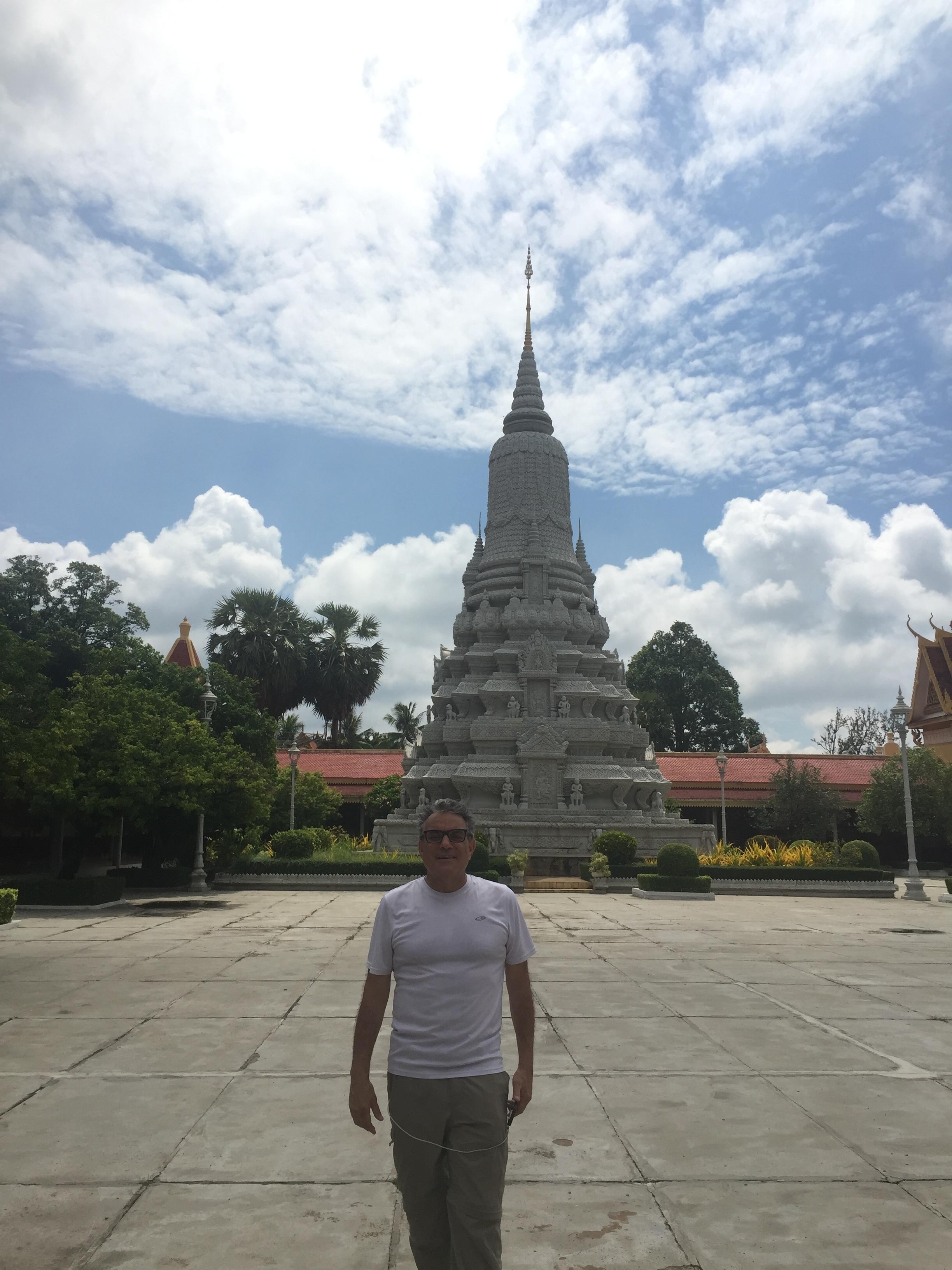 One of many pagoda's
