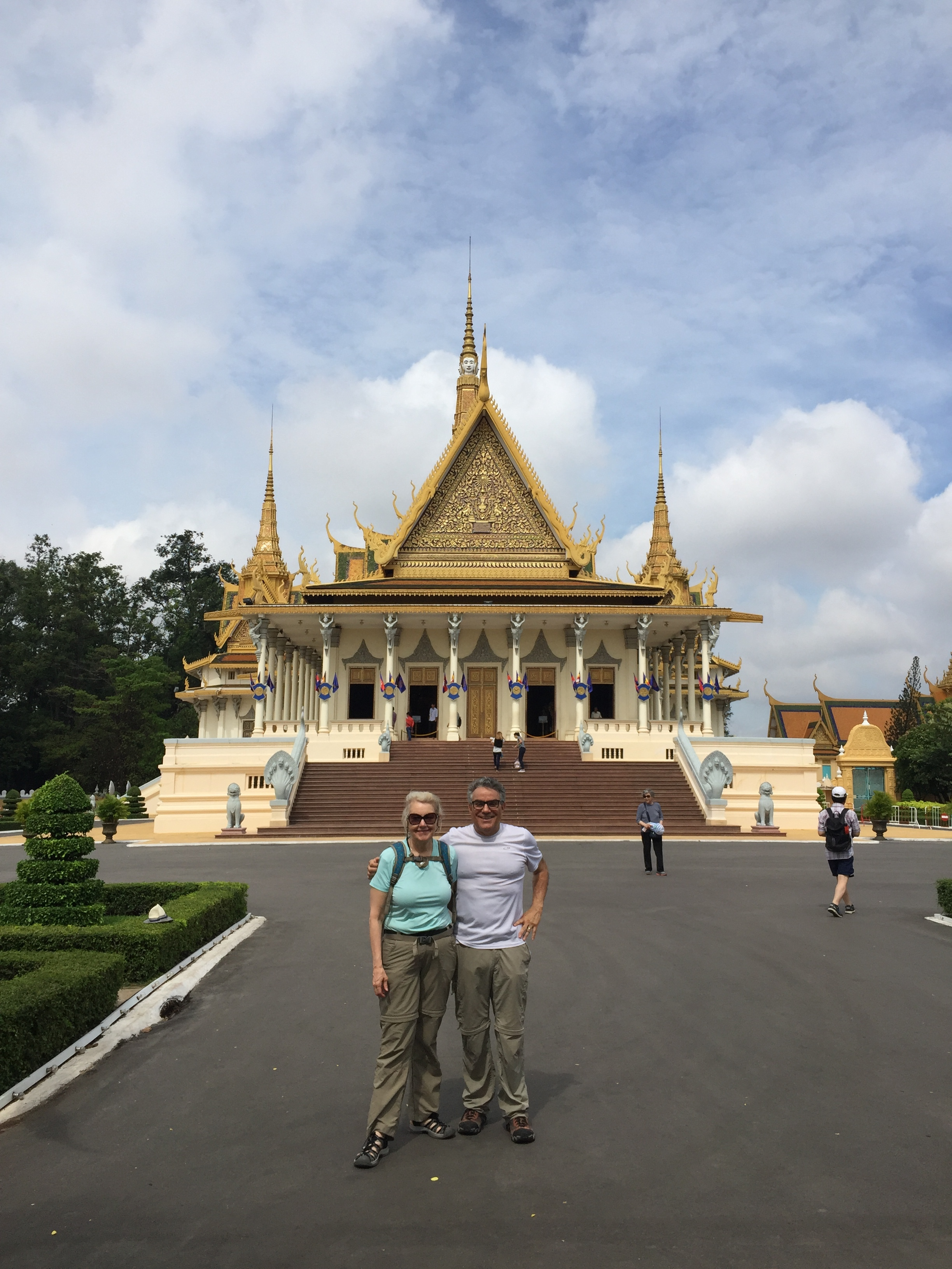 The main palace