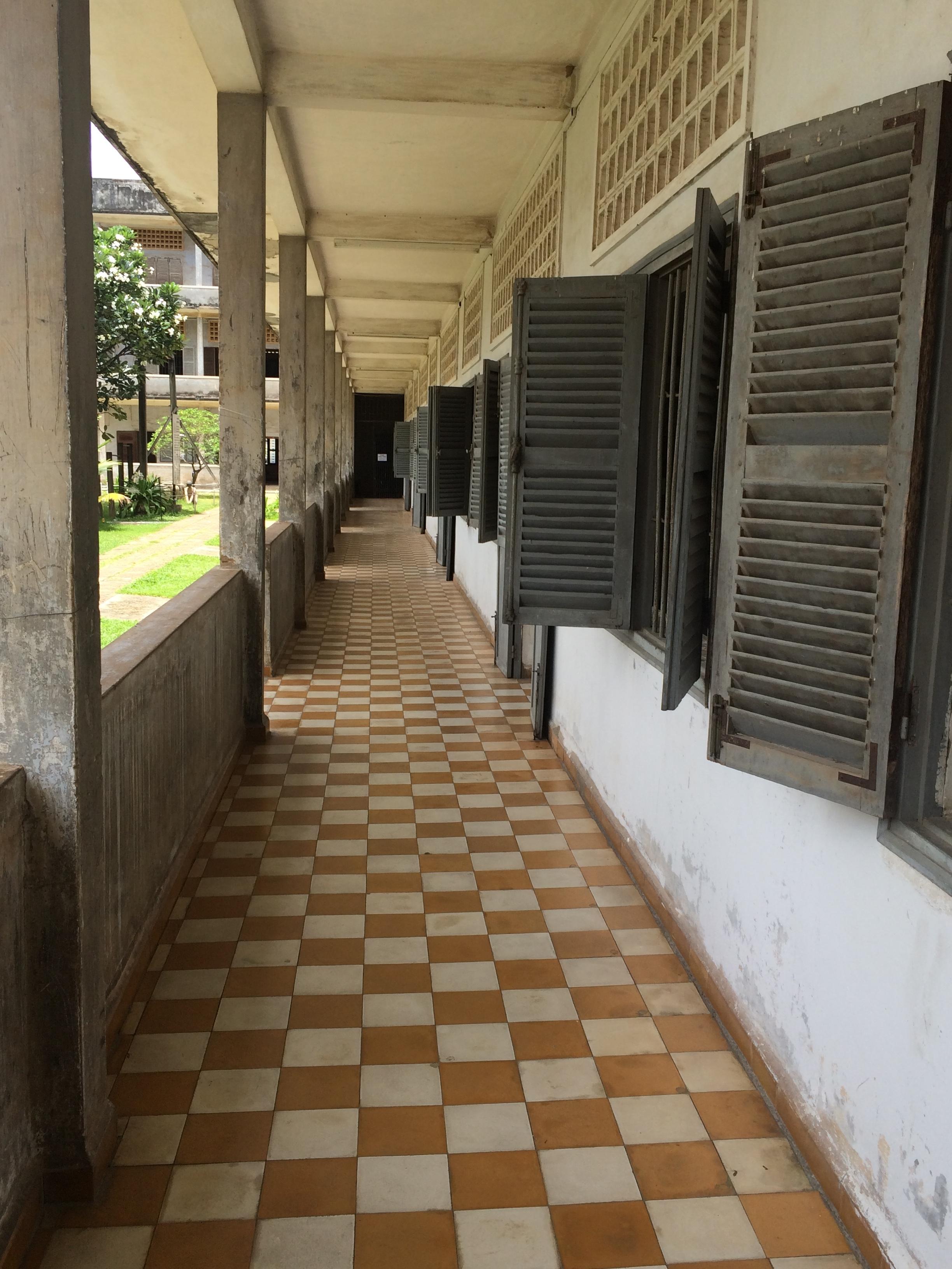 Walkway to torture rooms