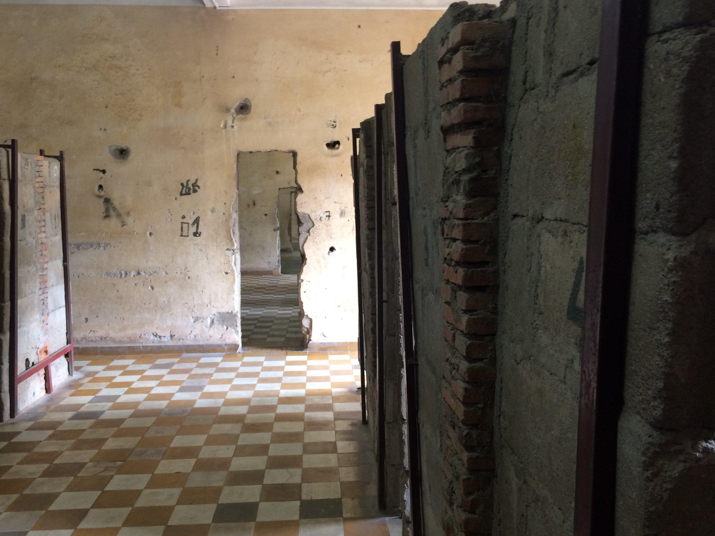 interior detention cells