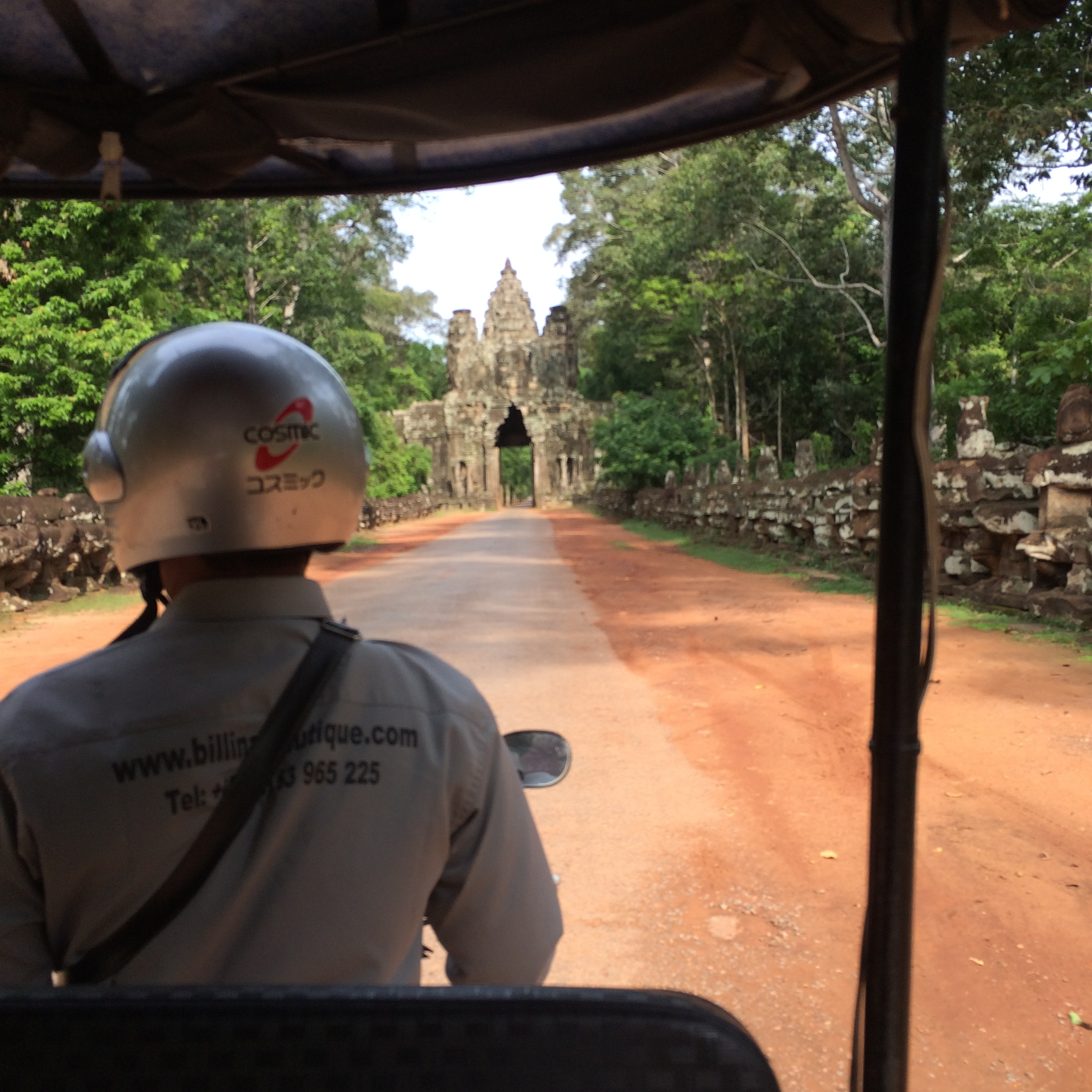 The view from the Tuk Tuk