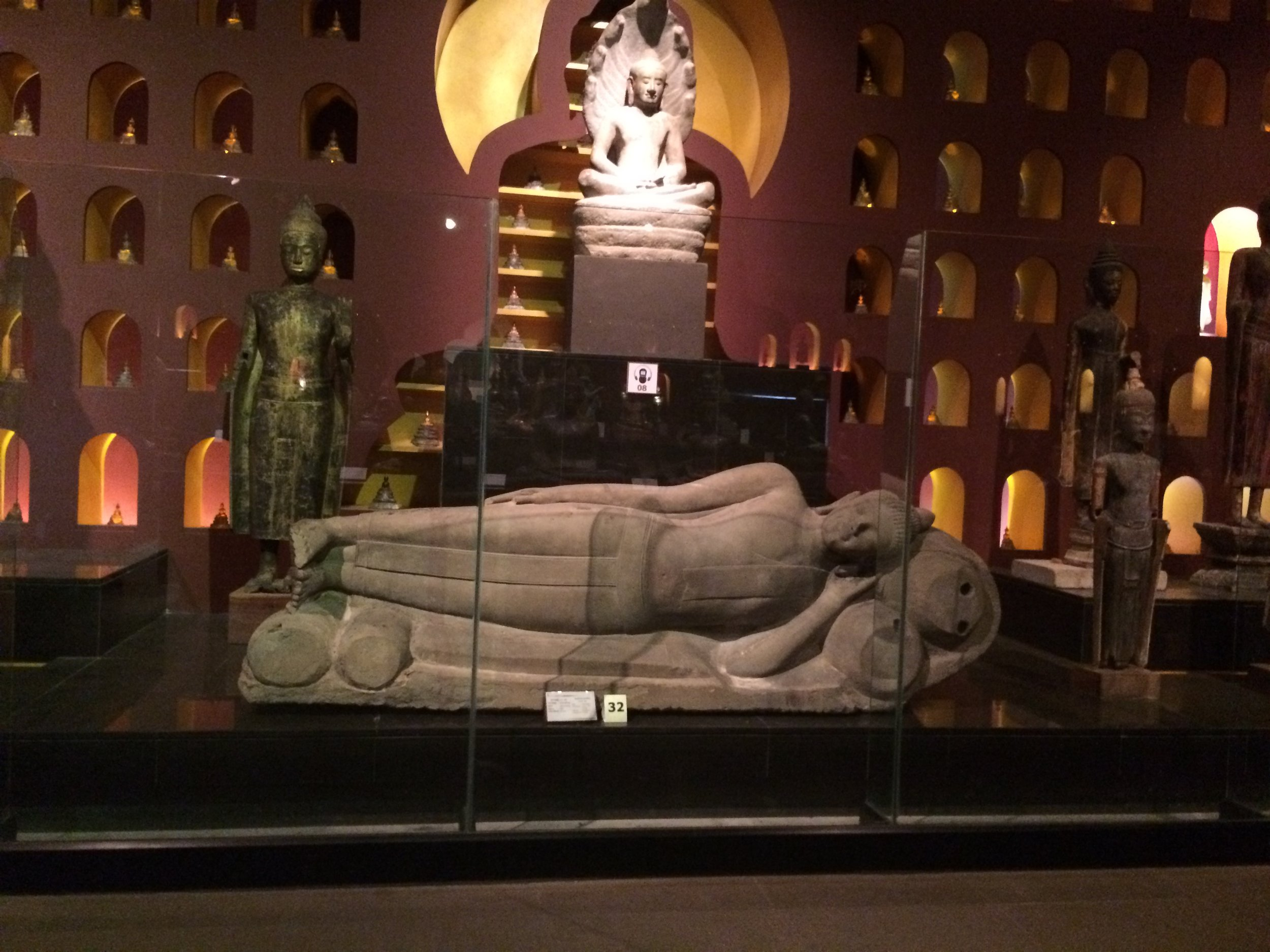 The room of 10,000 Buddha's