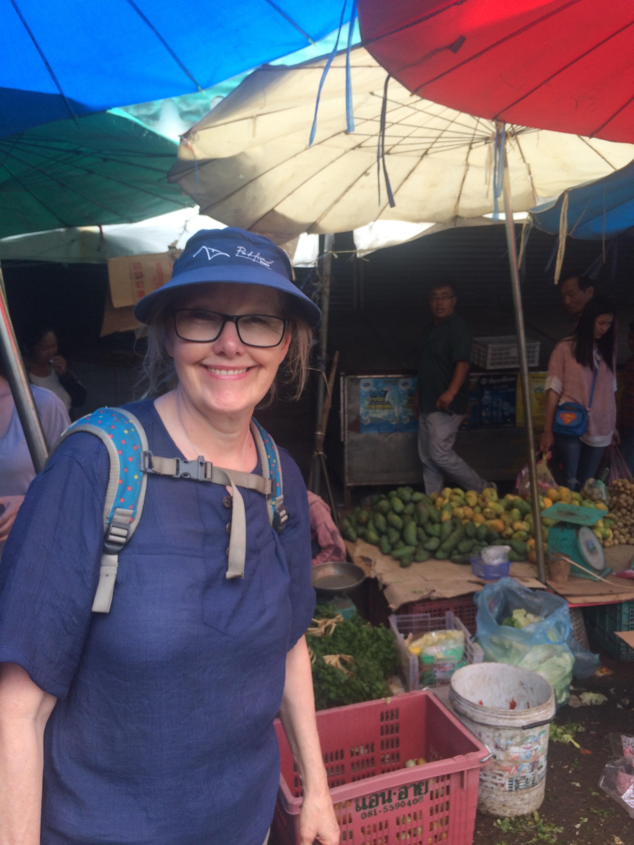 Janet loves food markets