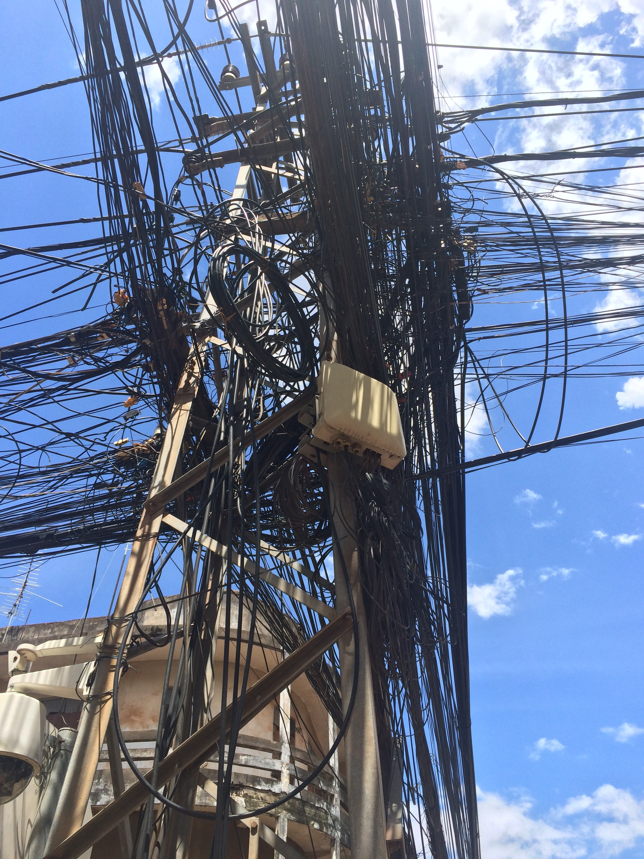 Crazy wires on every street