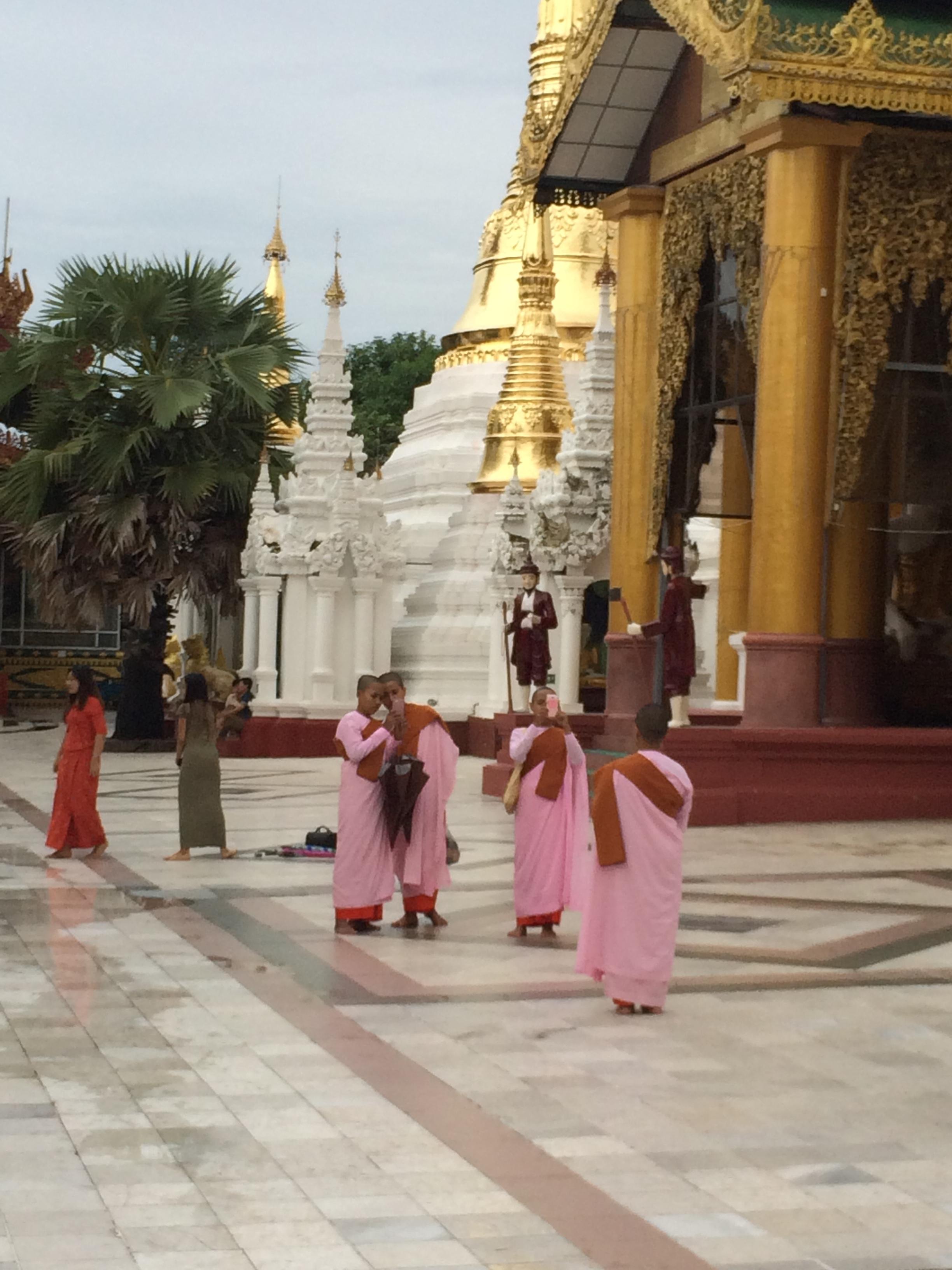More female monks