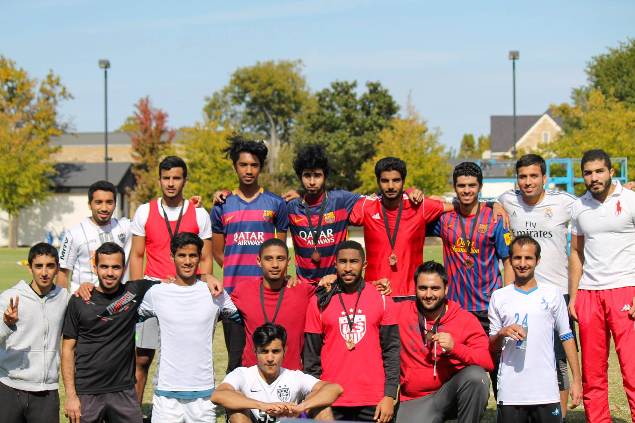 The Omani teams won both gold and silver in 2015.