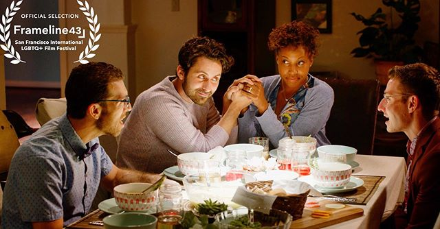 I'm sorry....we're an OFFICIAL SELECTION for @framelinefest?! DINNER WITH STRAIGHTS from #MichaelAndMichaelAreGay - Screening in #SanFranciso AT the #Castro - 6/22 @ 11am & 6/30 @ 2pm. Stay tuned for SO much more..... #Asparagus