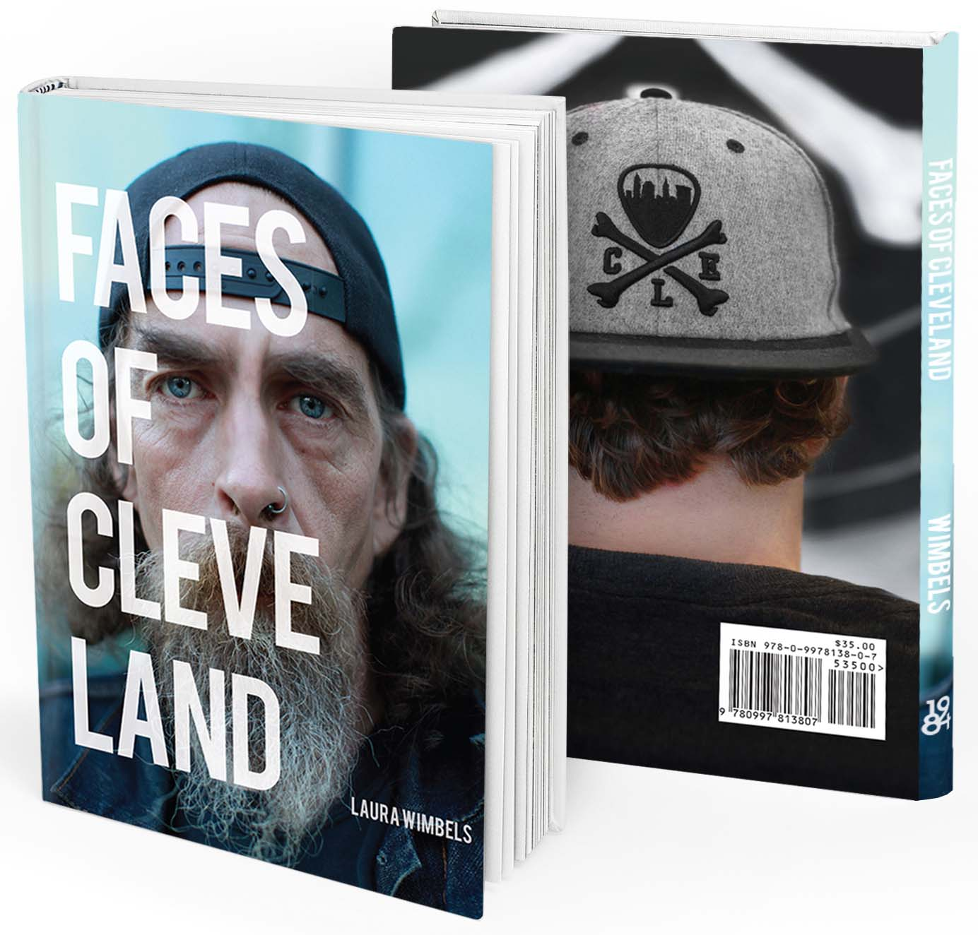 Cleveland native and photographer Laura Wimbels brings you more than 100 familiar faces within the spaces of Cleveland, Ohio - forever the comeback city! $35 | Hardbound | 132 pages | 8.5 x 11 inches