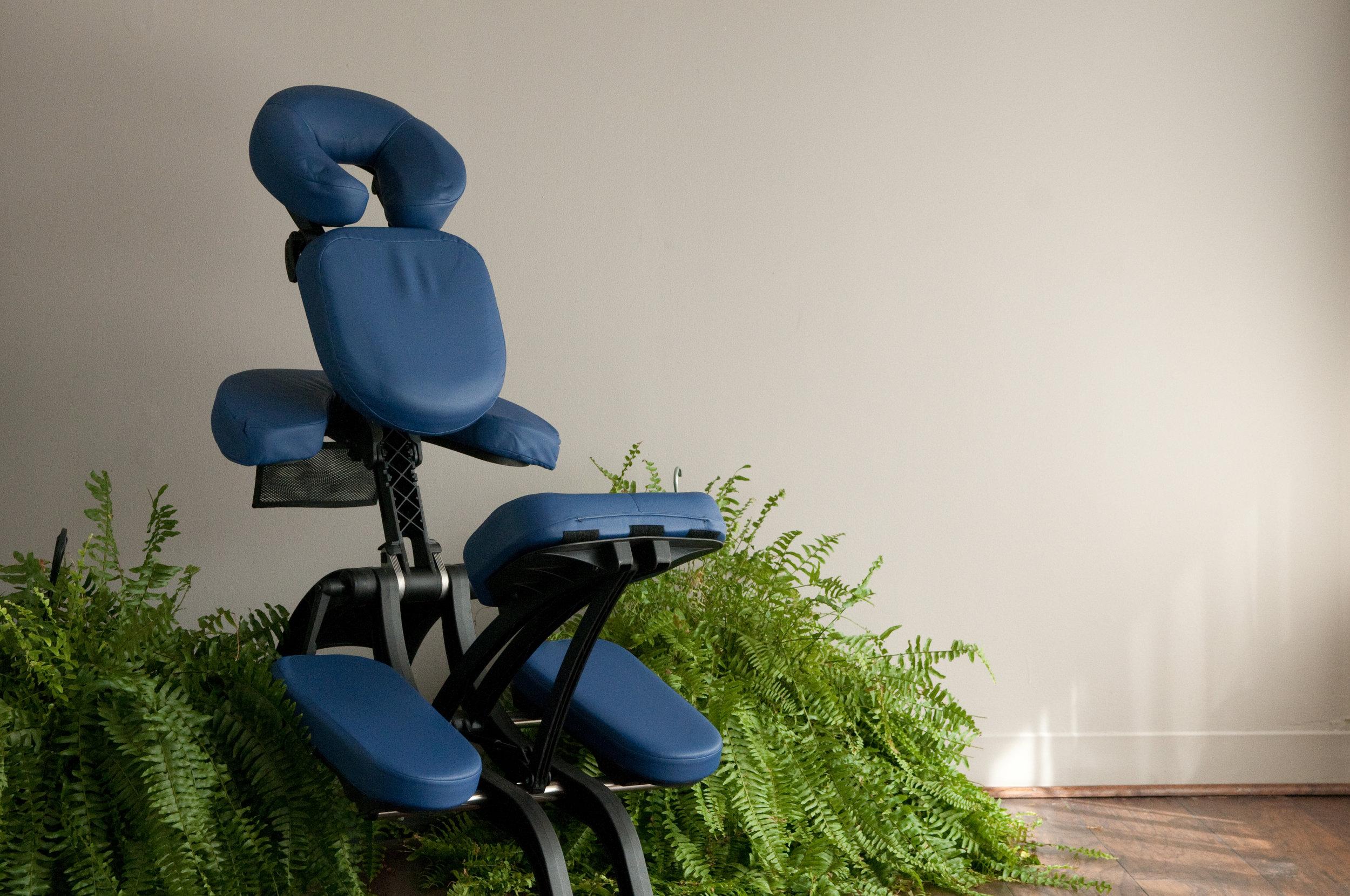 Winston Salem Massage Therapist Chair Massage Special Session