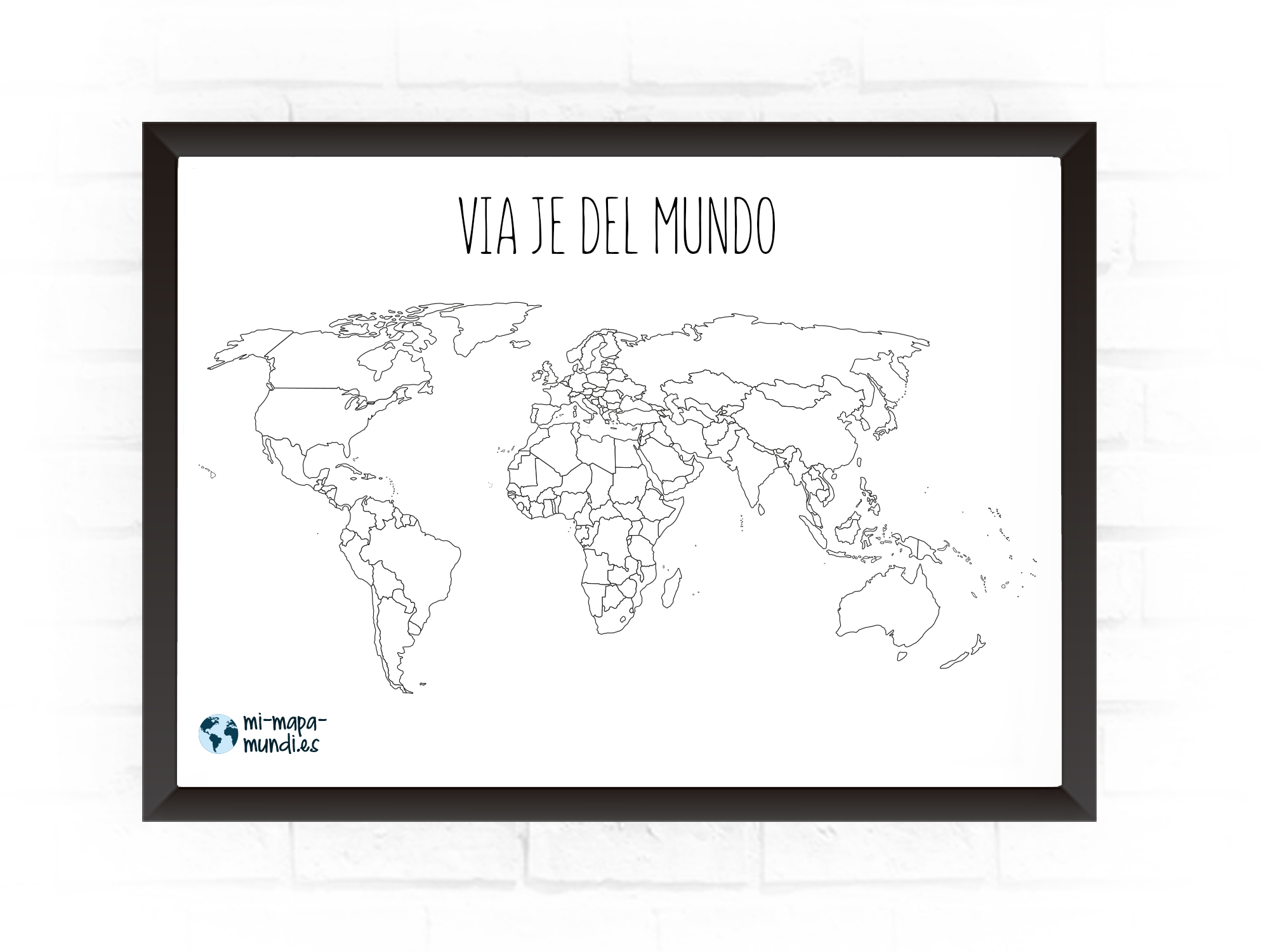 mapa personalizable