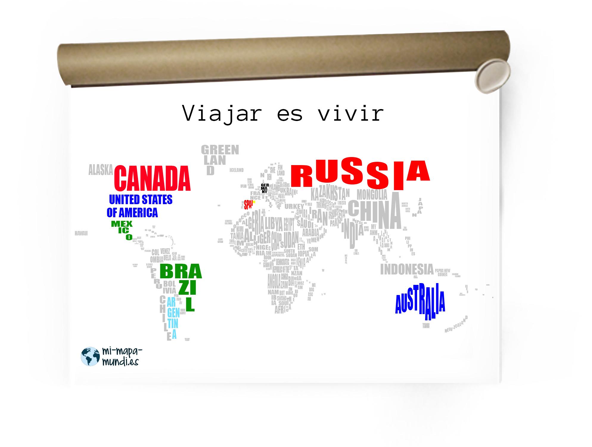 Mi propio mapa de viajes