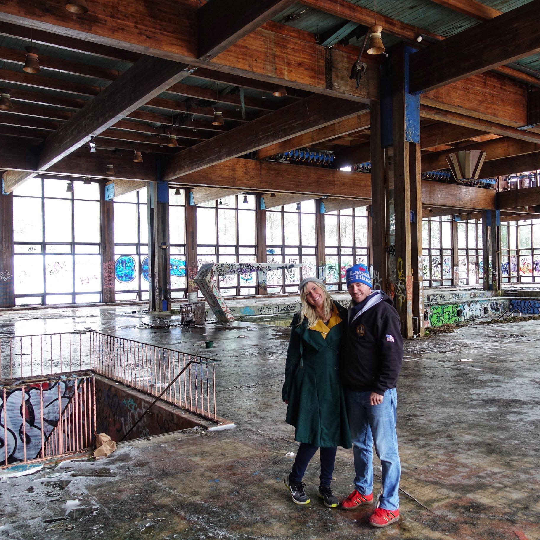 Abandoned Grossinger's Resort