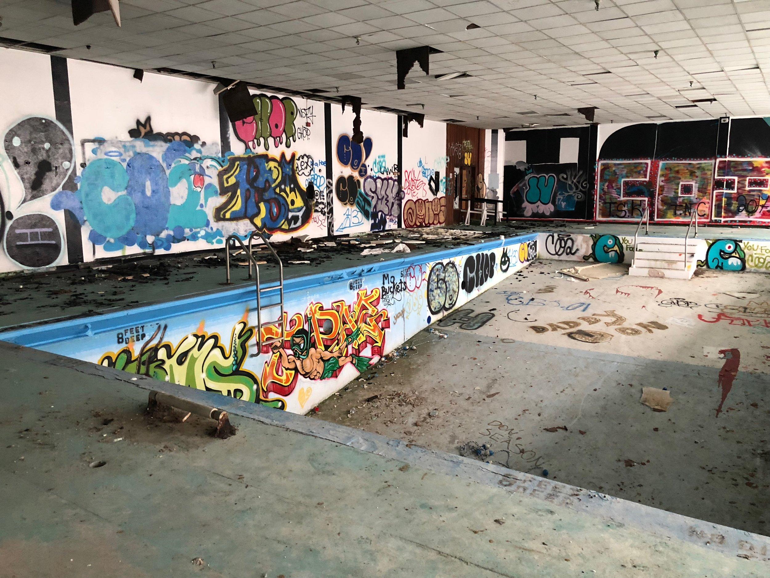 Homowack lodge indoor pool, taken 2018