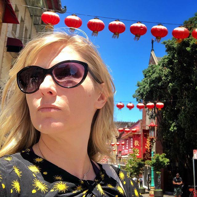 🏮 . . #chinatown #sfo #dimsum #lanterns #sunnydays
