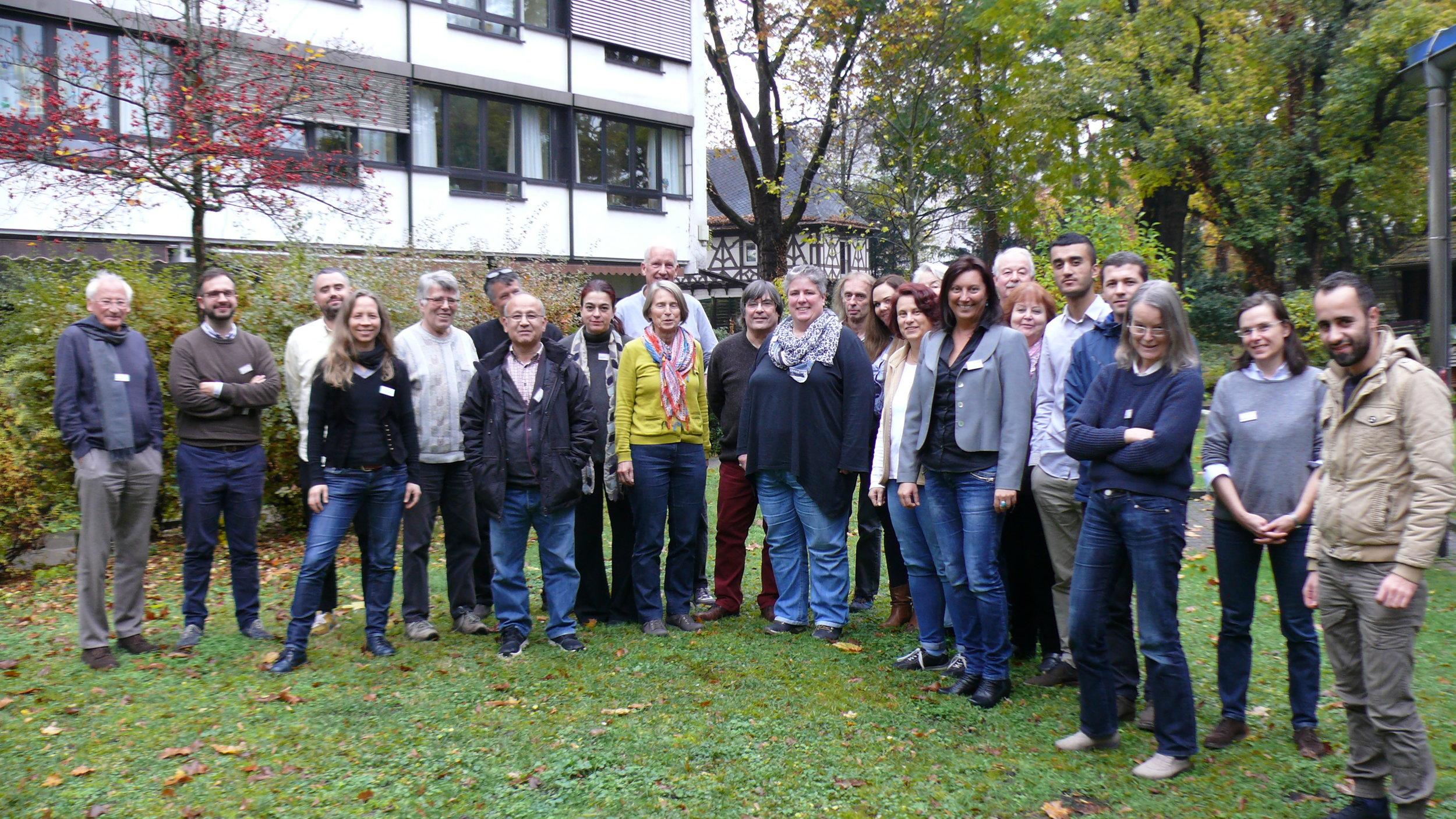 Das Team der zweiten Schulungsrunde am 05./06.11.2016 im  Erich Nitzling-Haus, AWO Geschäftsstelle, EG