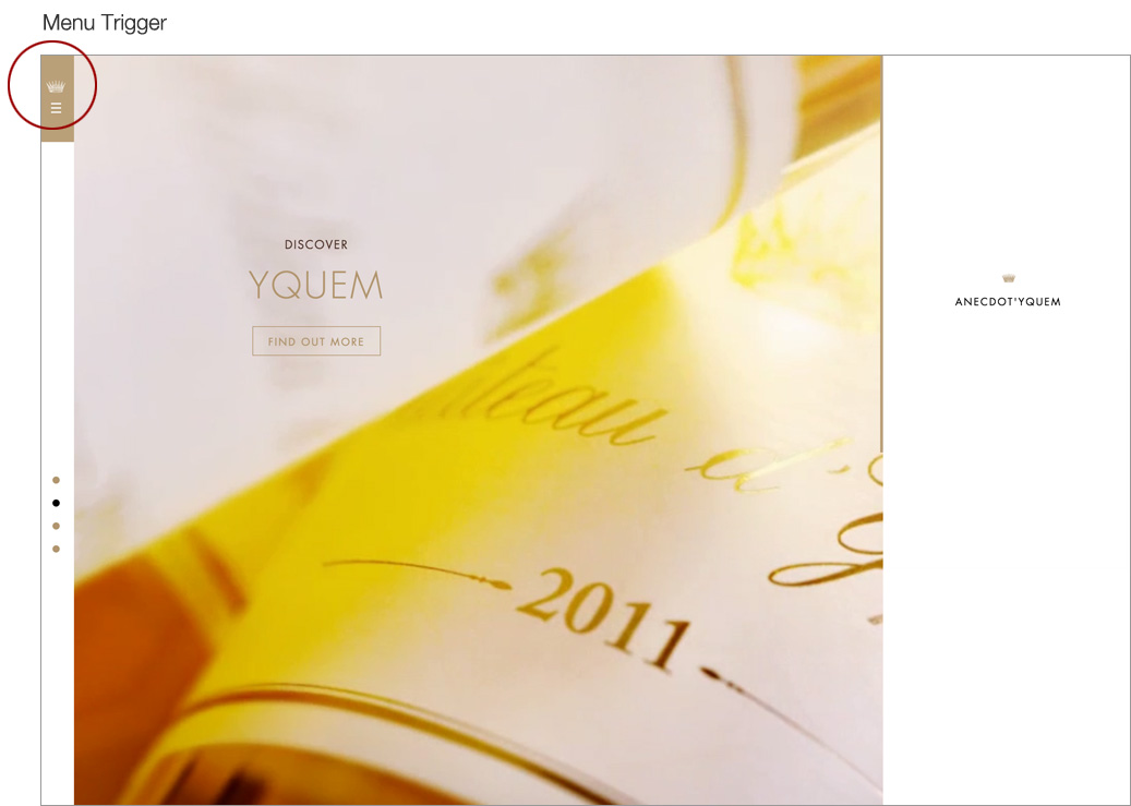 Chateau Yquem home page