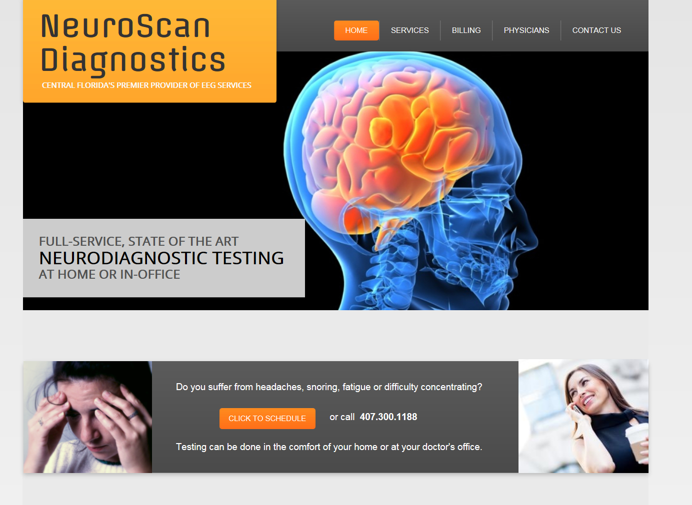 NeuroScan Diagnostics