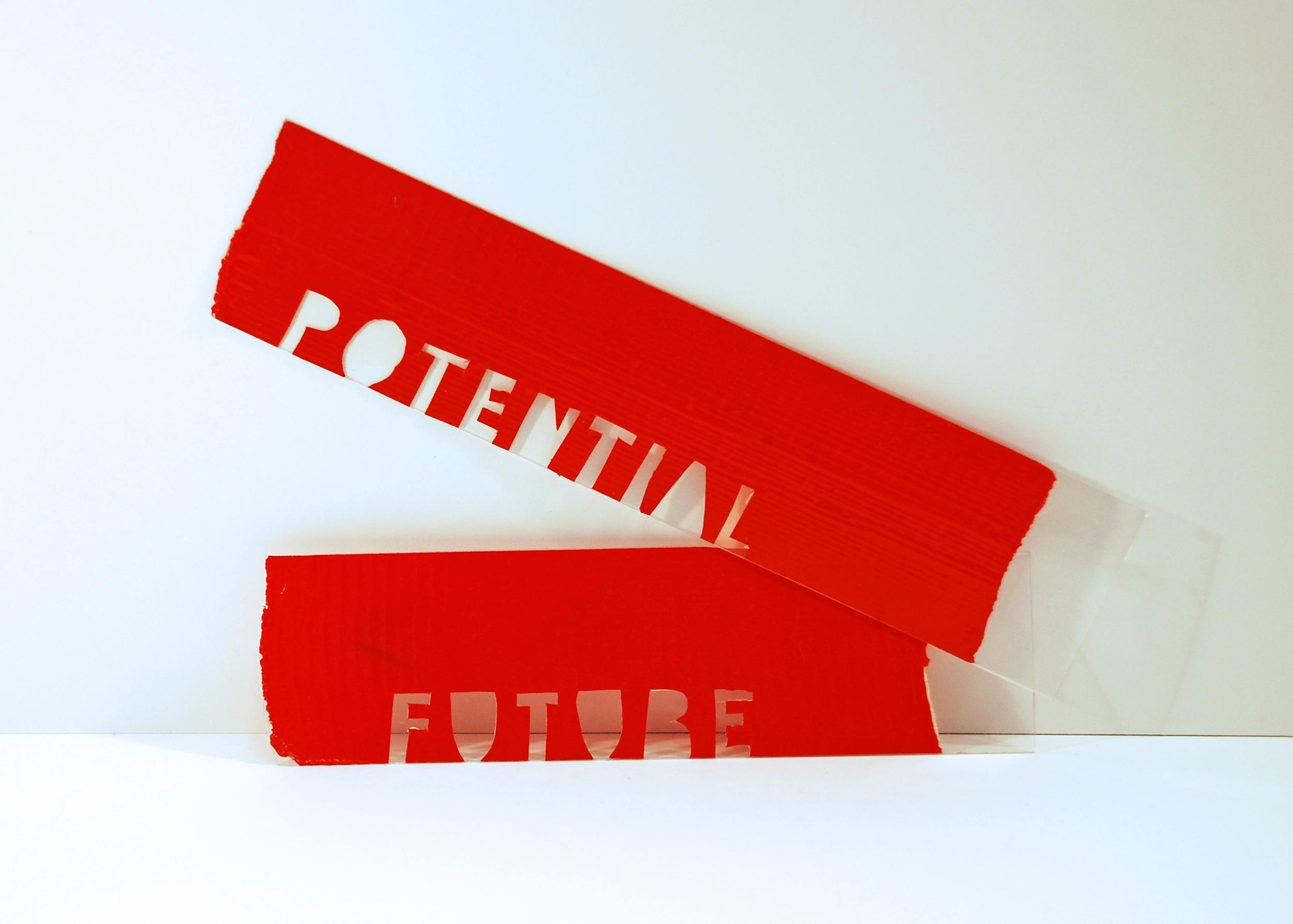 Stickers for the guerrilla campaign
