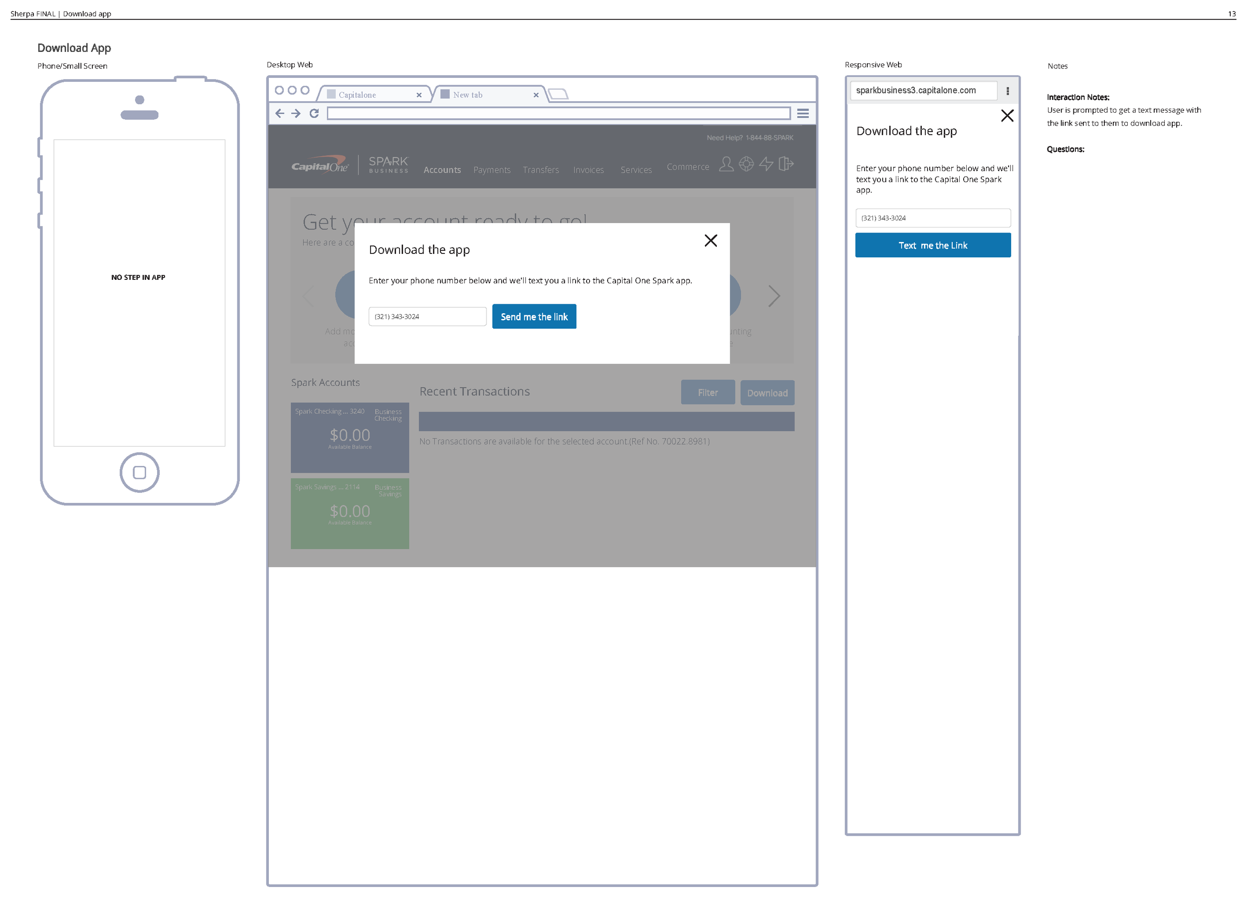 Several of the tasks were completed in existing modal flows