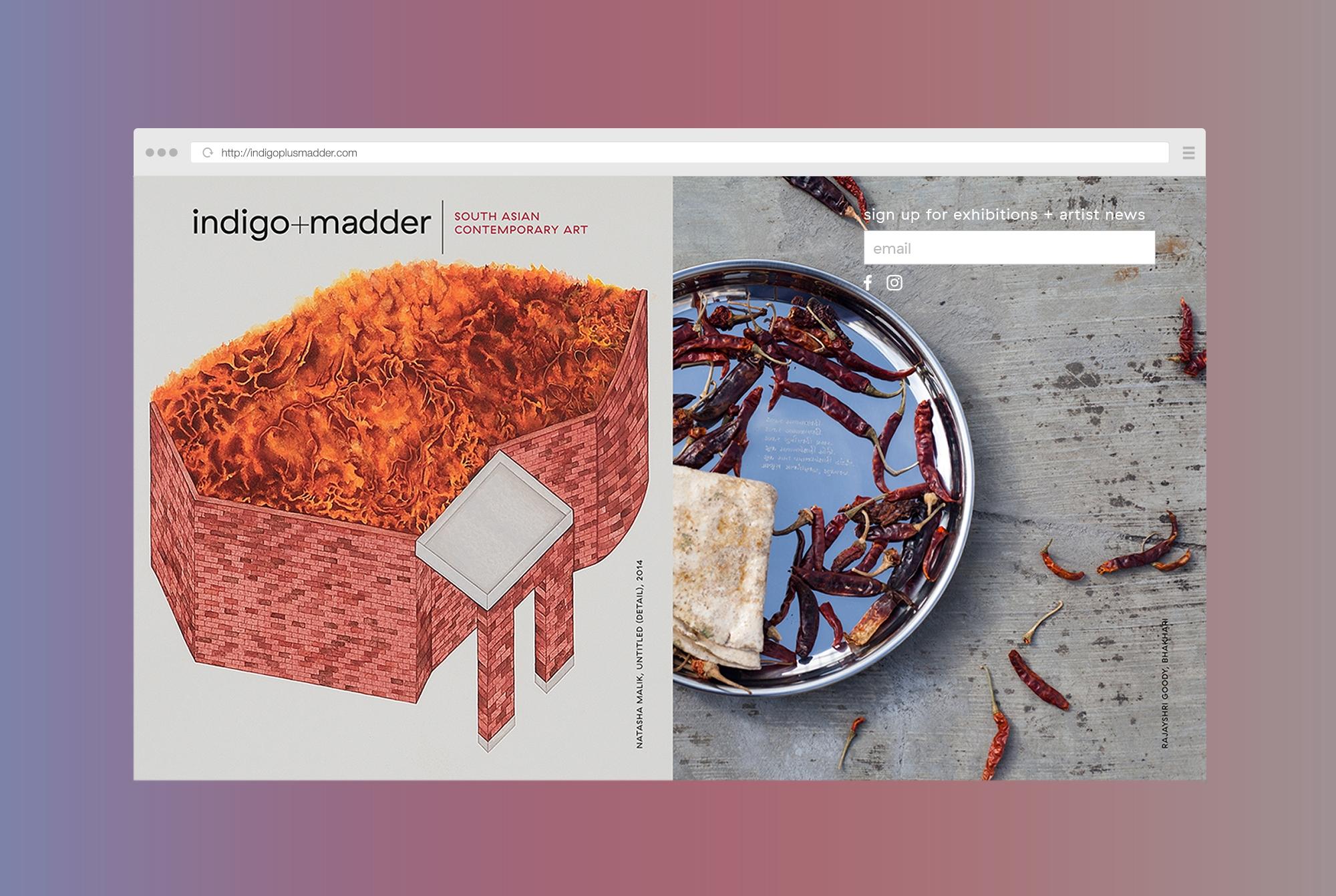 INDIGO+MADDER  - WEBSITE