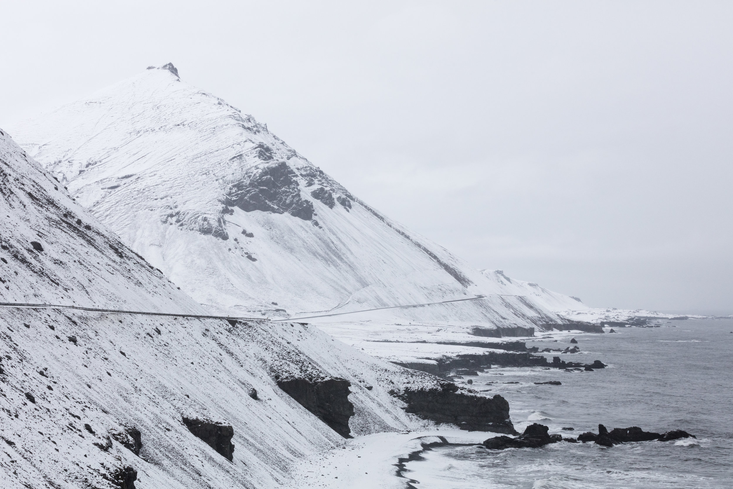 Iceland's East Fjords covered in snow | East Iceland - Faune