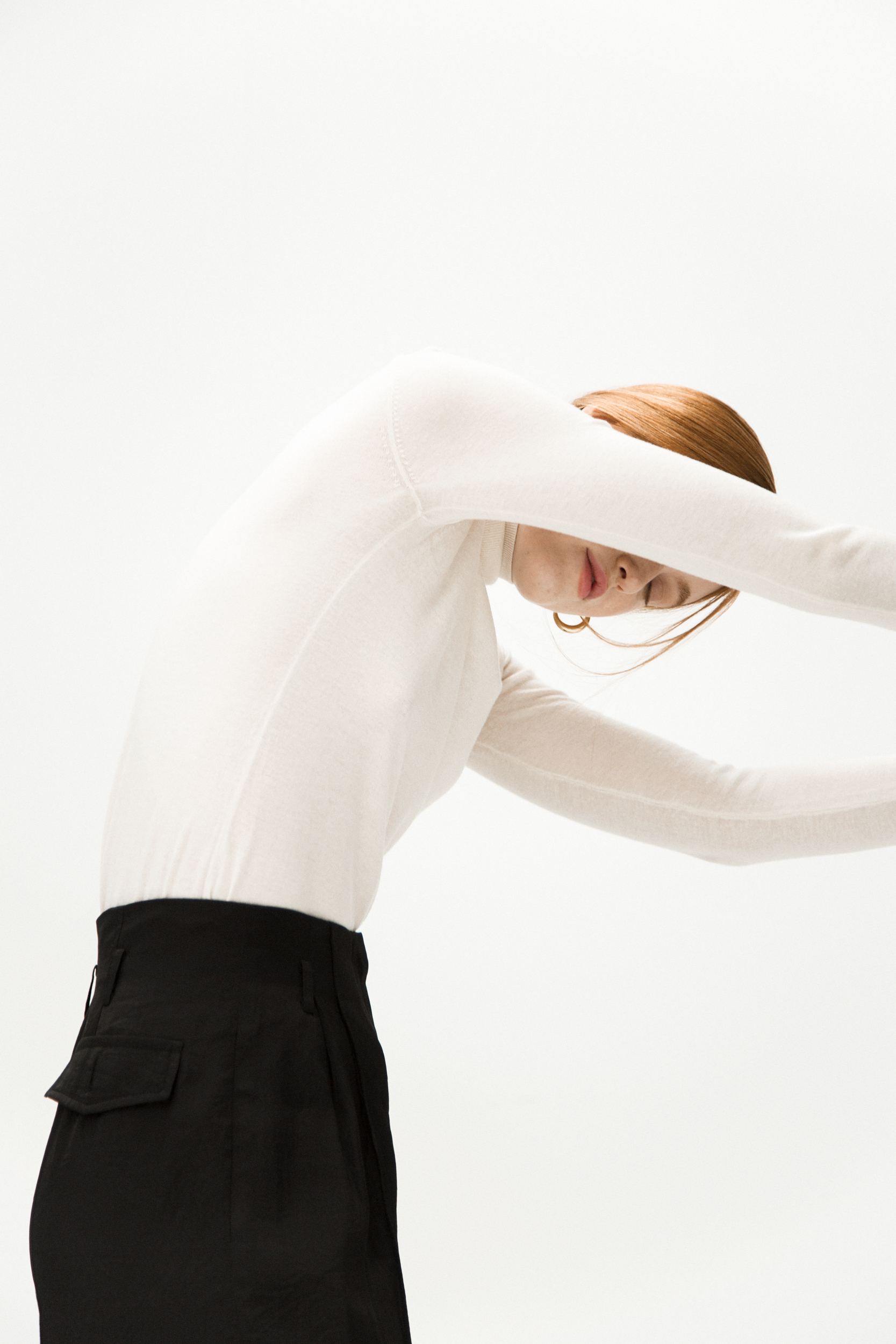 Massimo Dutti jumper / Rejina Pyo trousers